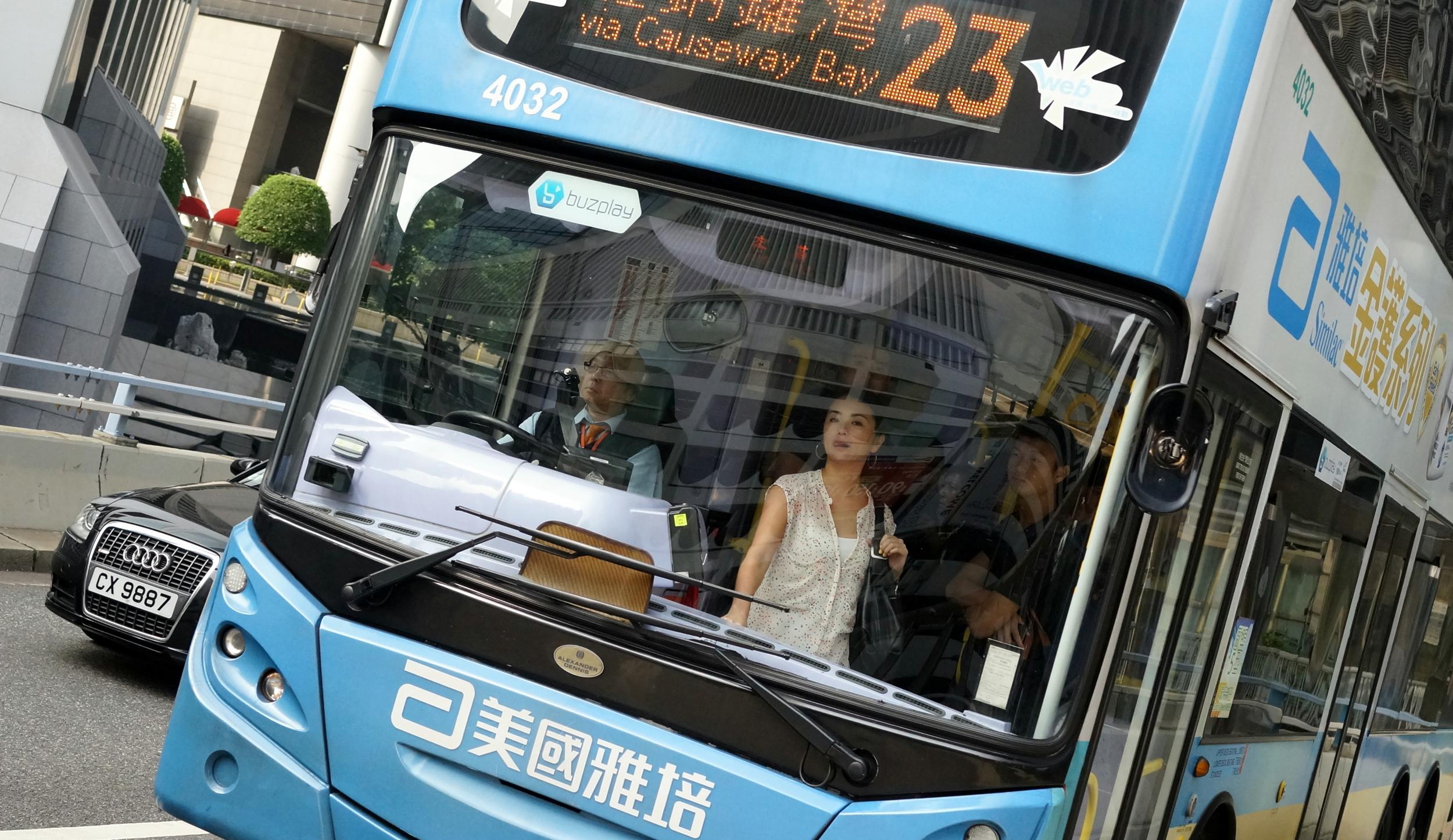 Bus no. 23 on HK Island 3