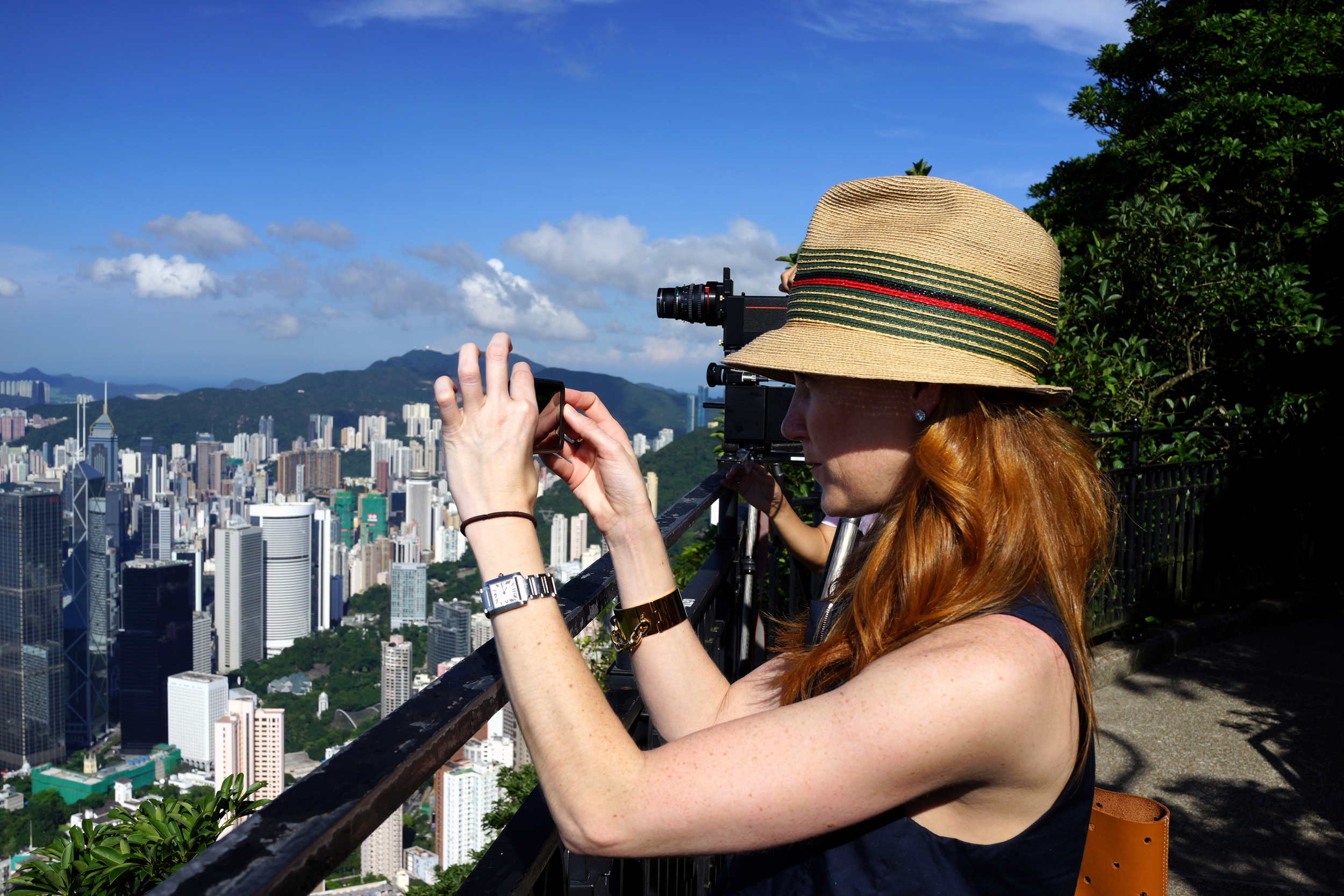 Meet Lindsey, Lindsey is an Interior Designer from New York and she was thrilled with the crystal clear view from the Peak