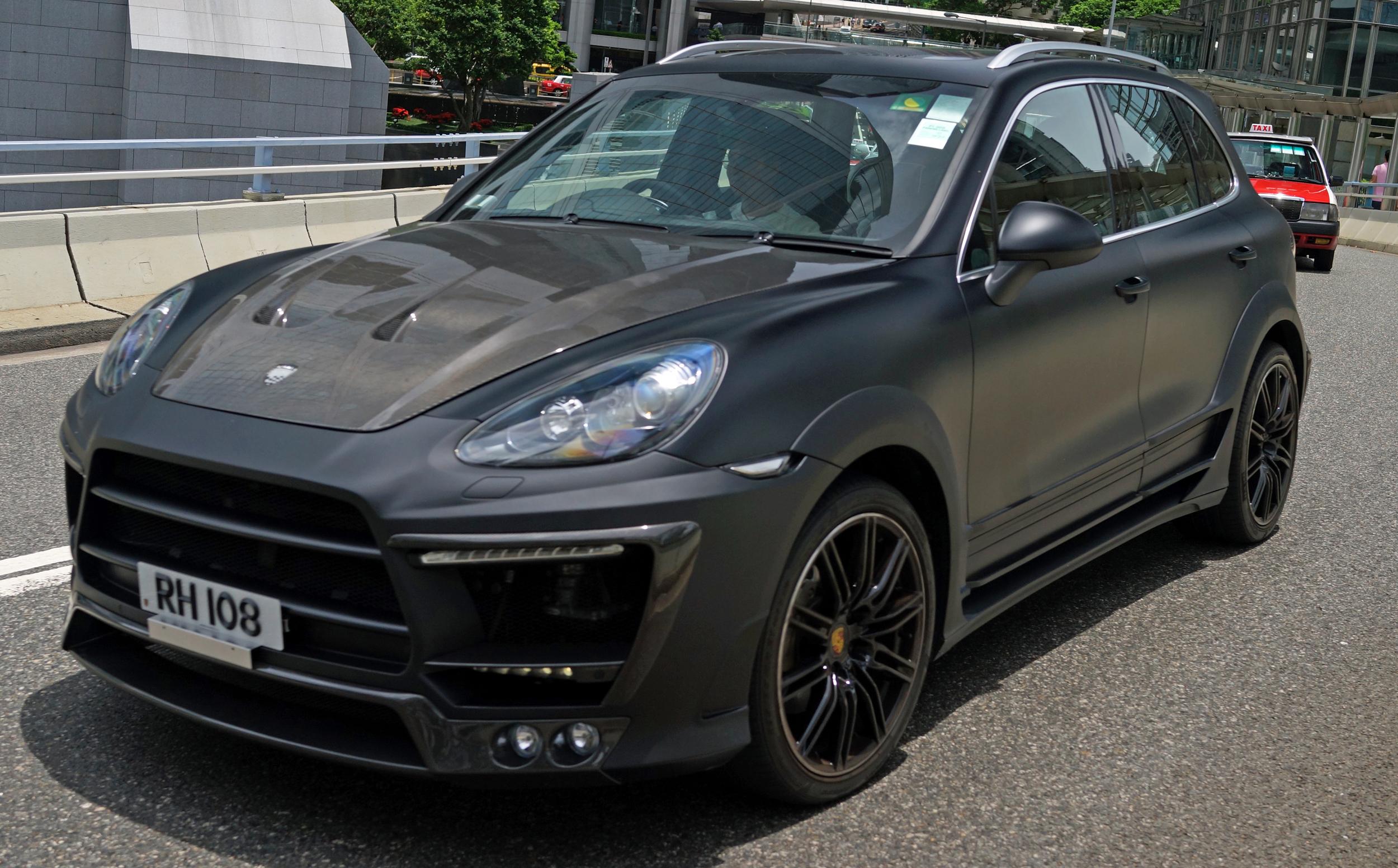 This time a rather unique matte Porsche