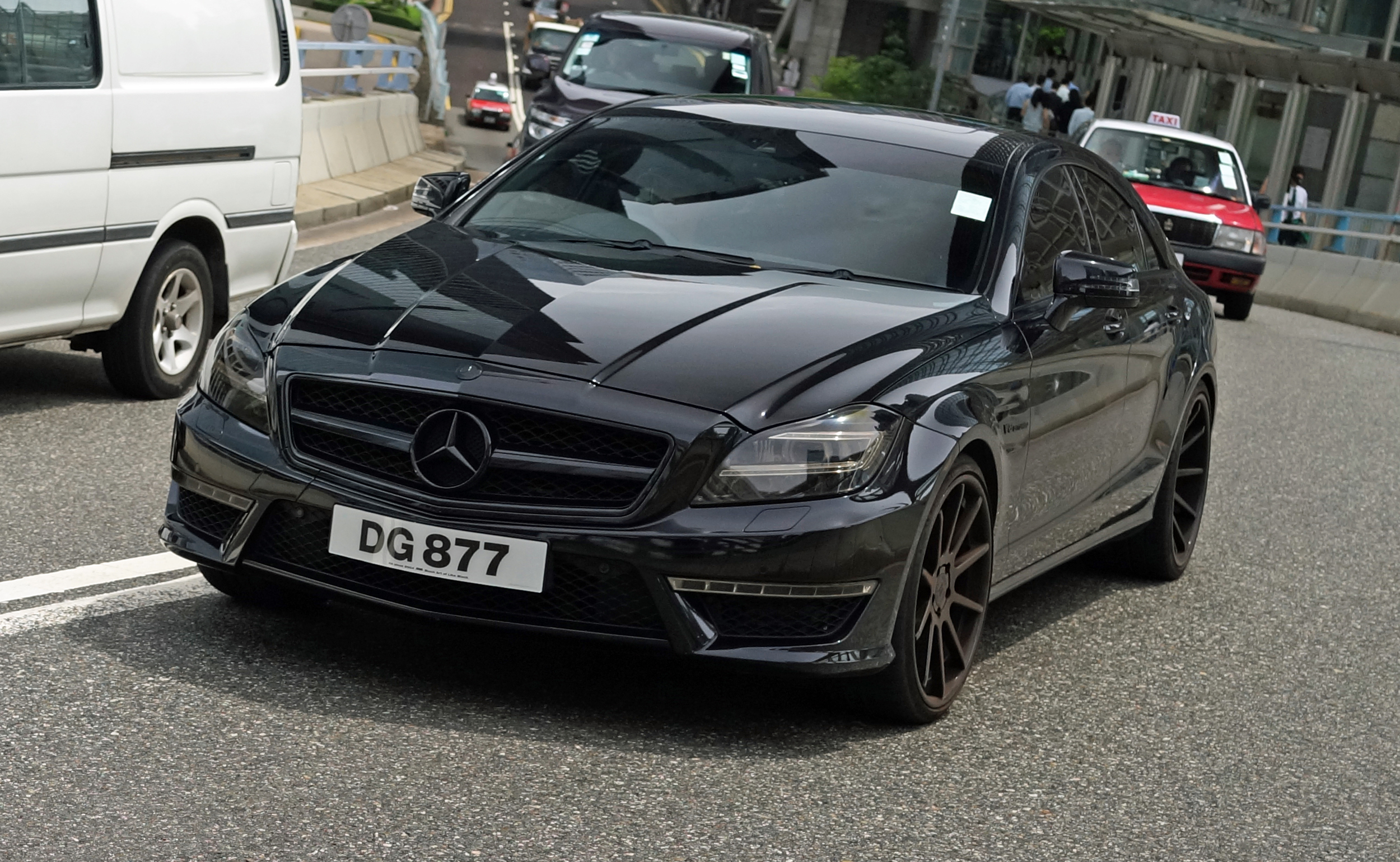 Awesome - a pimped out Mercedes Benz