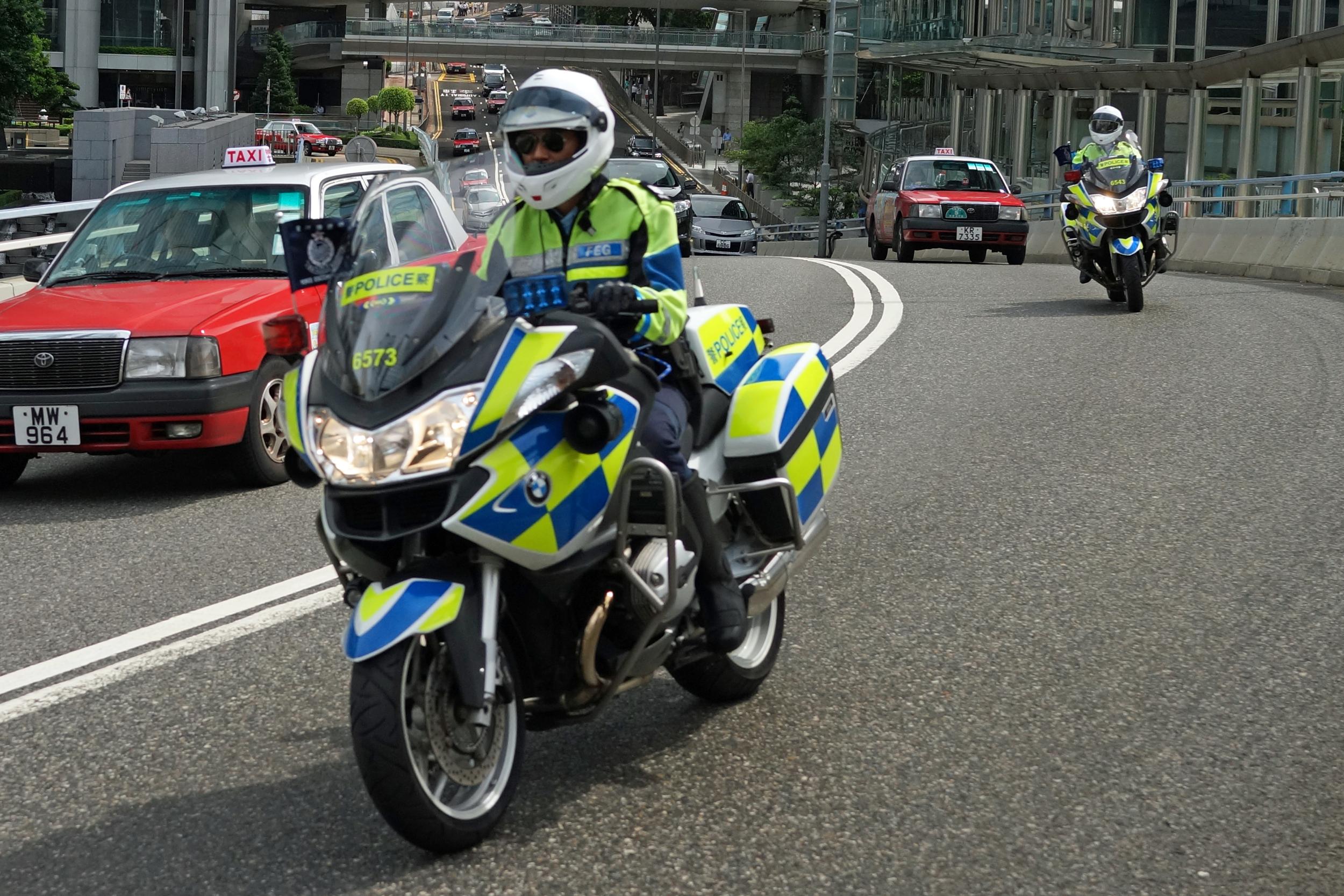 Traffic cops being traffic cops