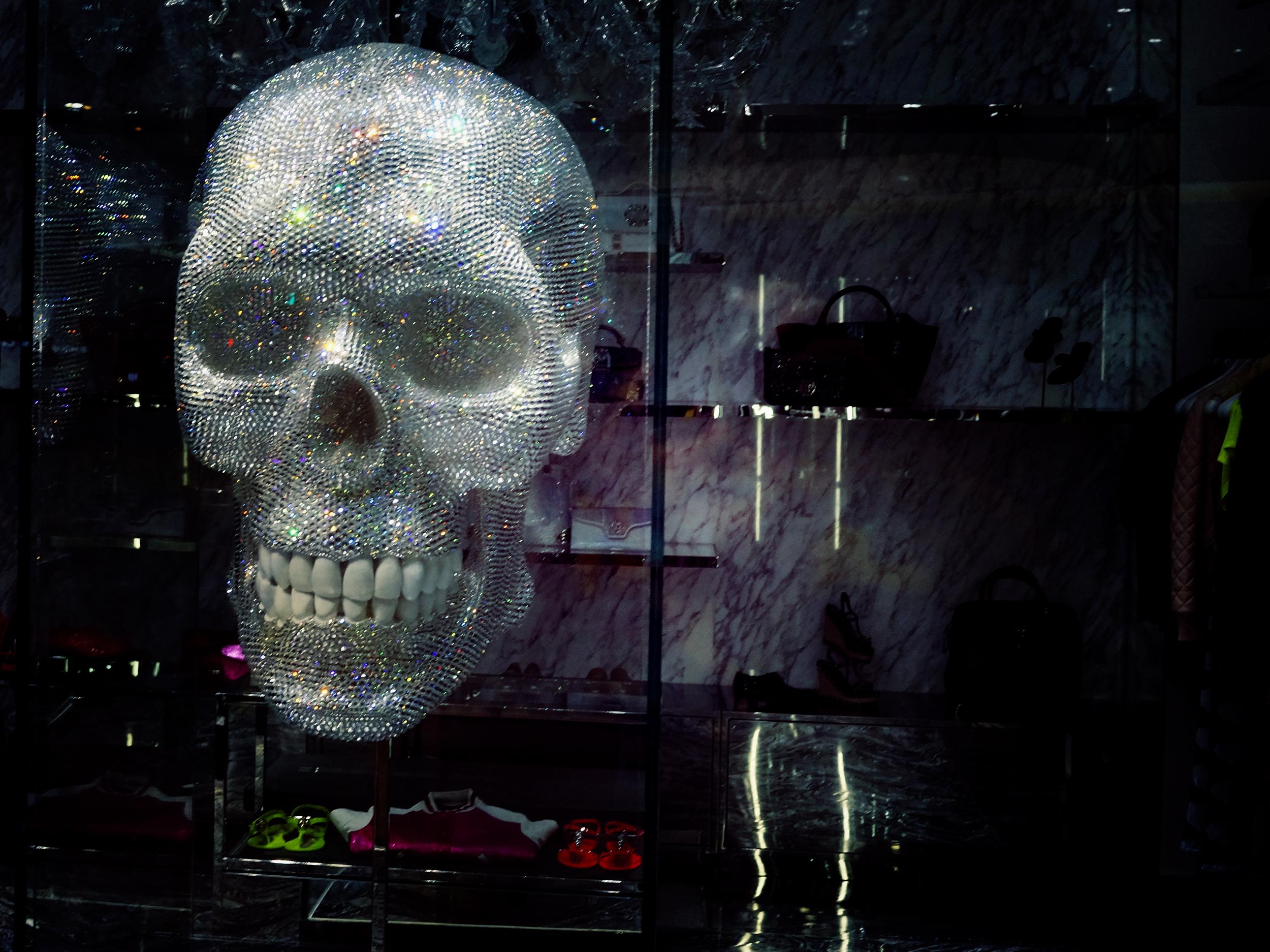 The crystal skull.