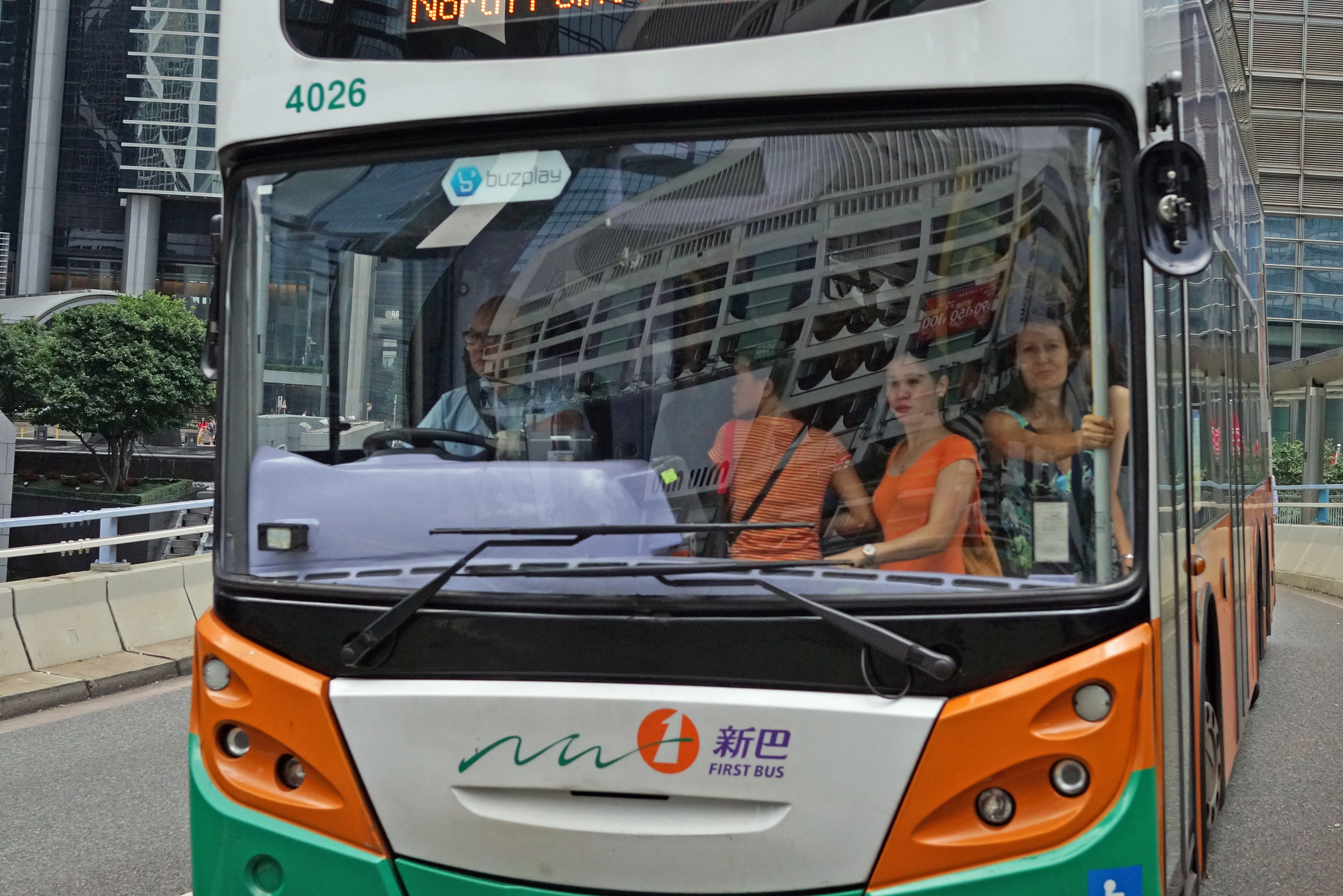 I am getting quite good at capturing the essence of the crowded buses here.. yes, it is route 23 and it seems no matter how many buses they add to the route demand remains strong.. it does not look very comfortable does it.