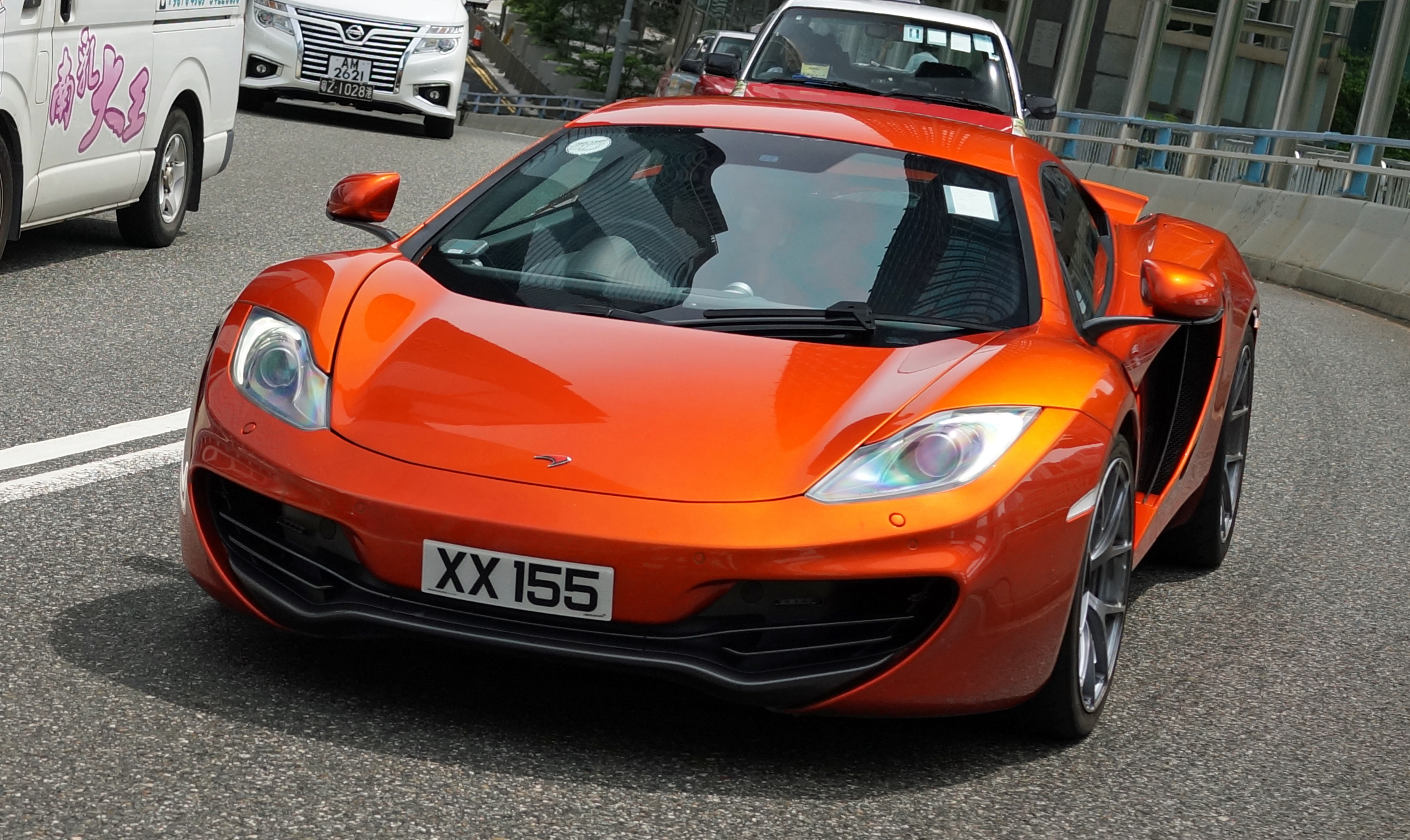 Oh, so, so cool the awesome McLaren