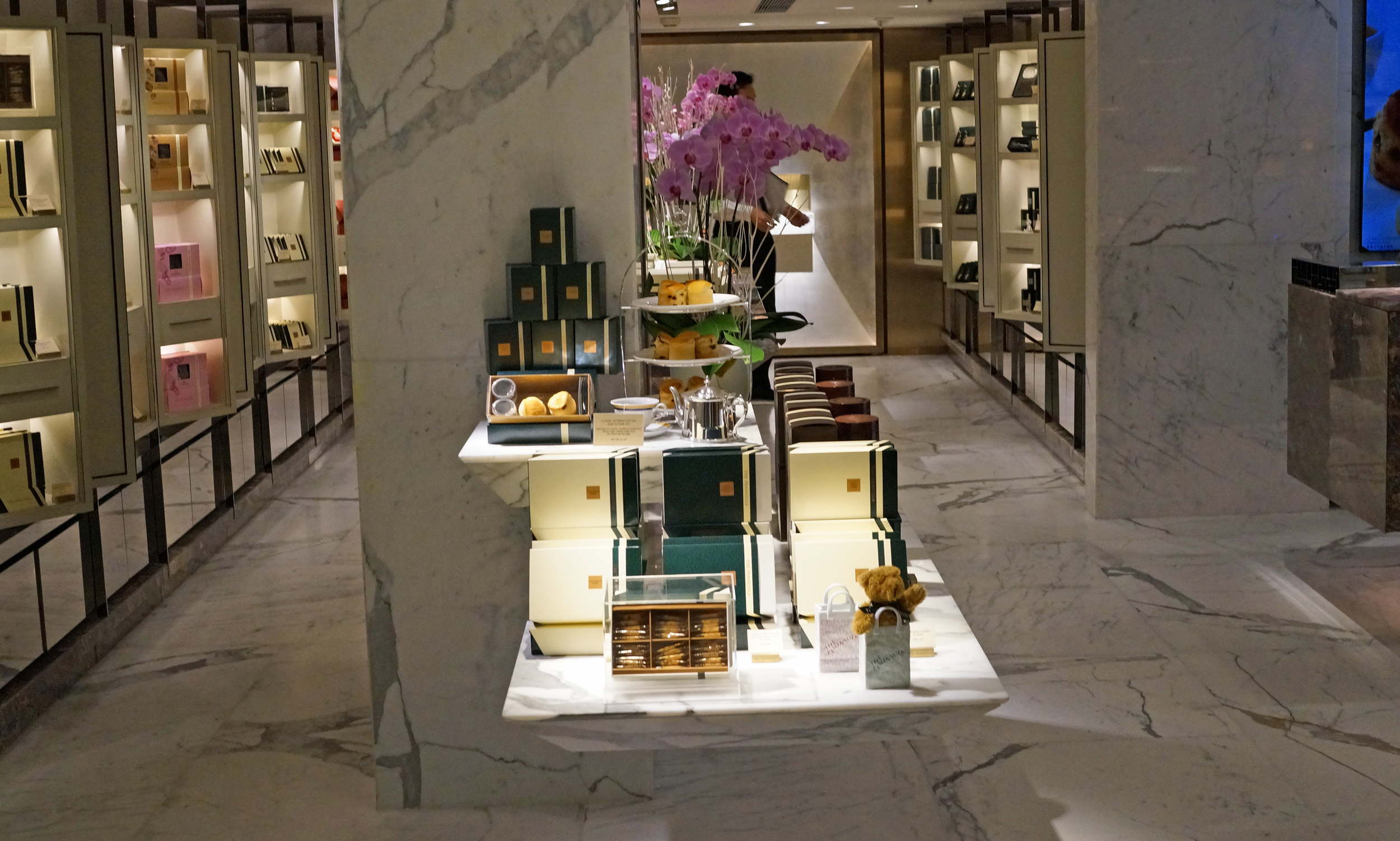 If you go into the basement arcade of the fabulous Peninsula Hotel you will come across the Hotel's boutique where you can buy all manner of Peninsula branded products, worth a visit! -