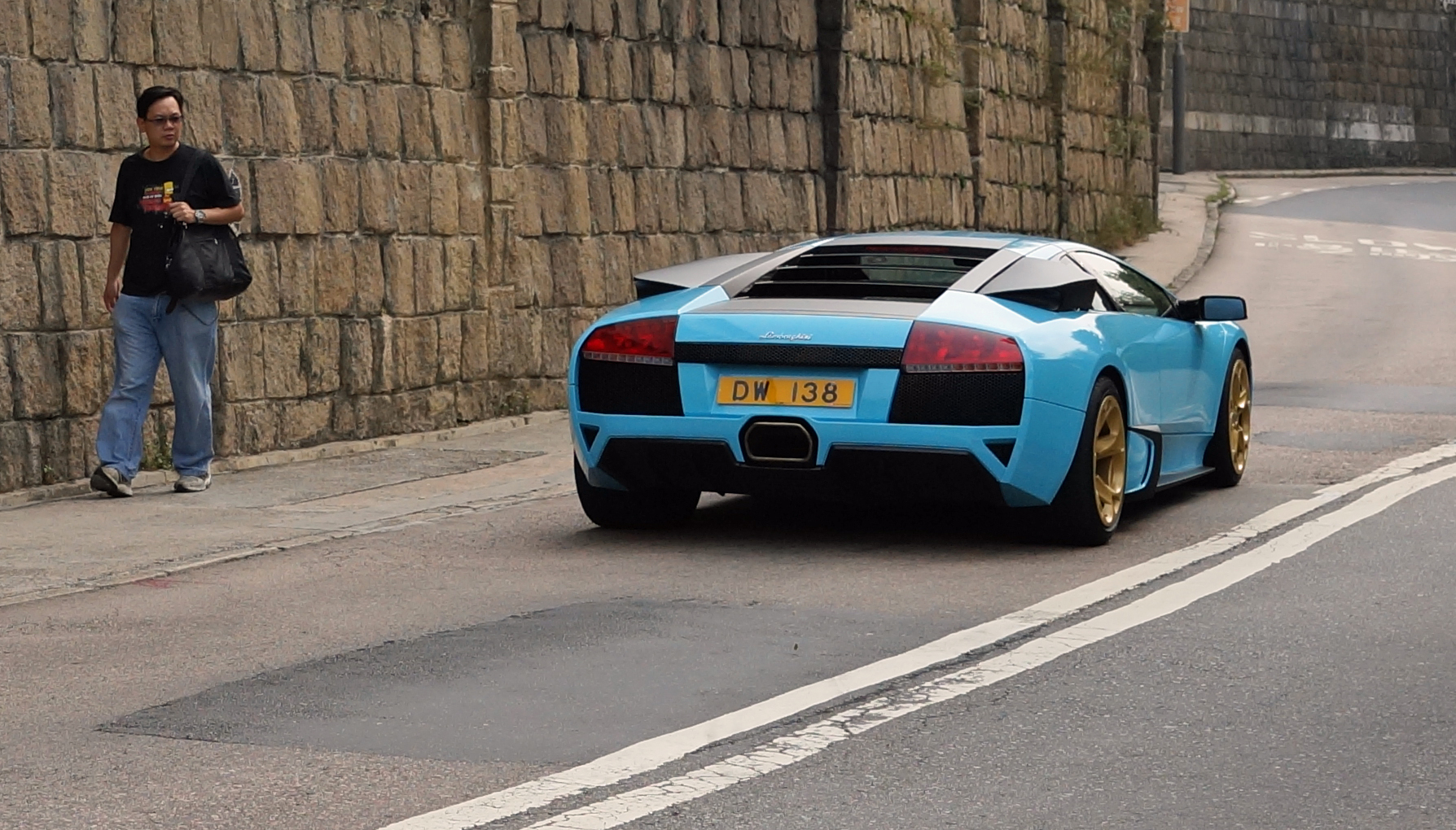 I am not sure about the colour but Lamborghini's still have the power to turn heads even if you don't like cars!