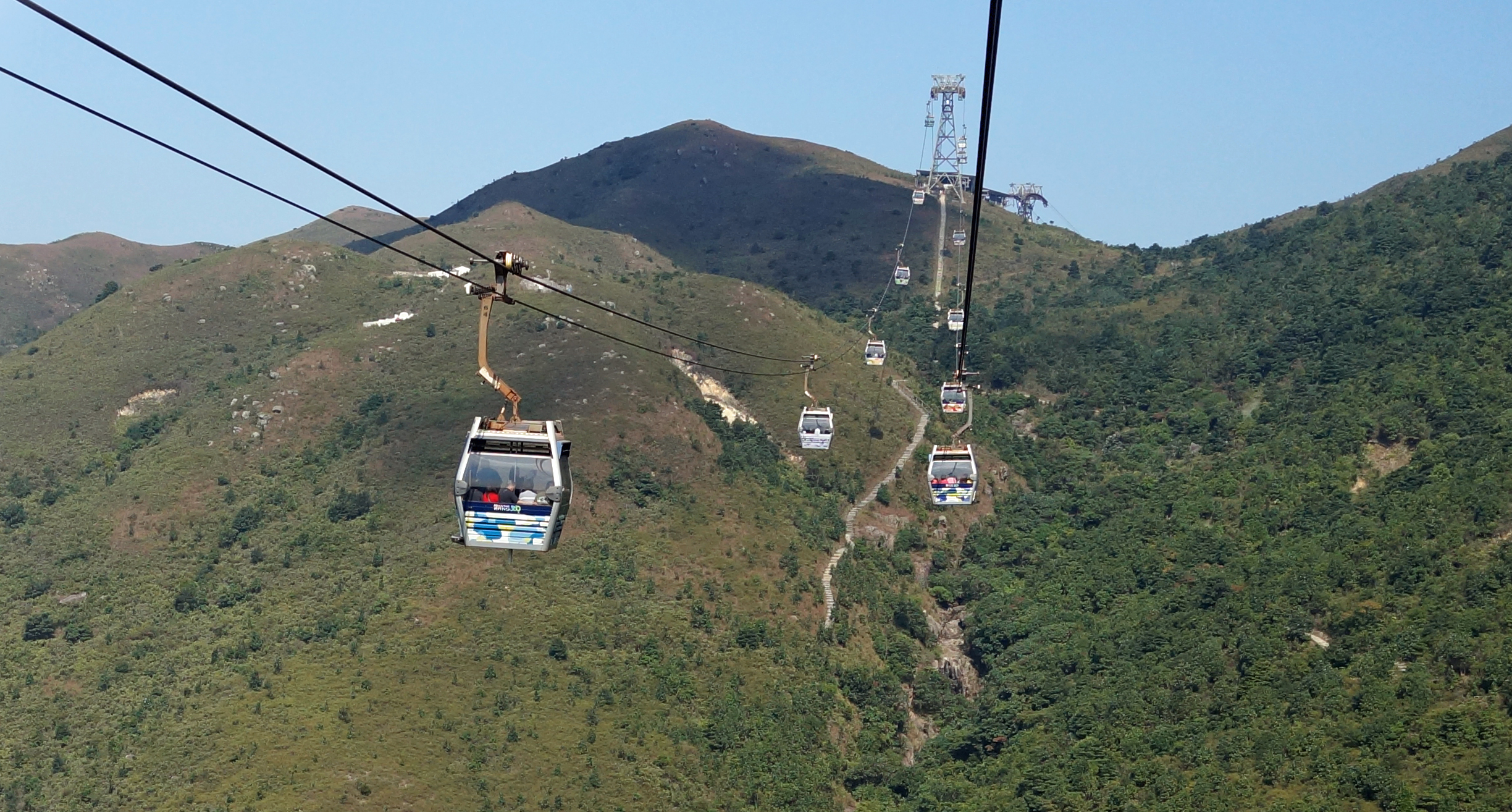 It is simply awesome to be on the NP 360 Cable Car on a sunny day.. Brilliant.