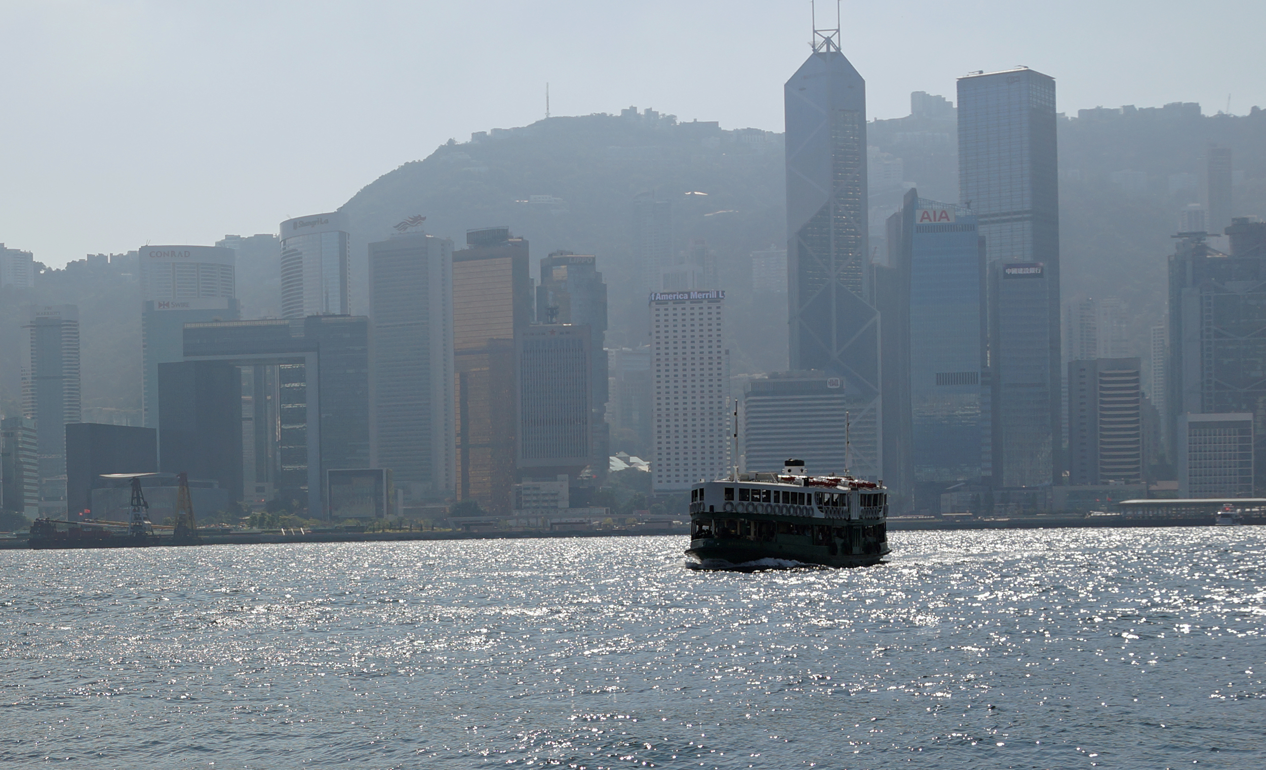 One of the best things you can do in Hong Kong is one of the simple things and that is to ride the Star Ferry.