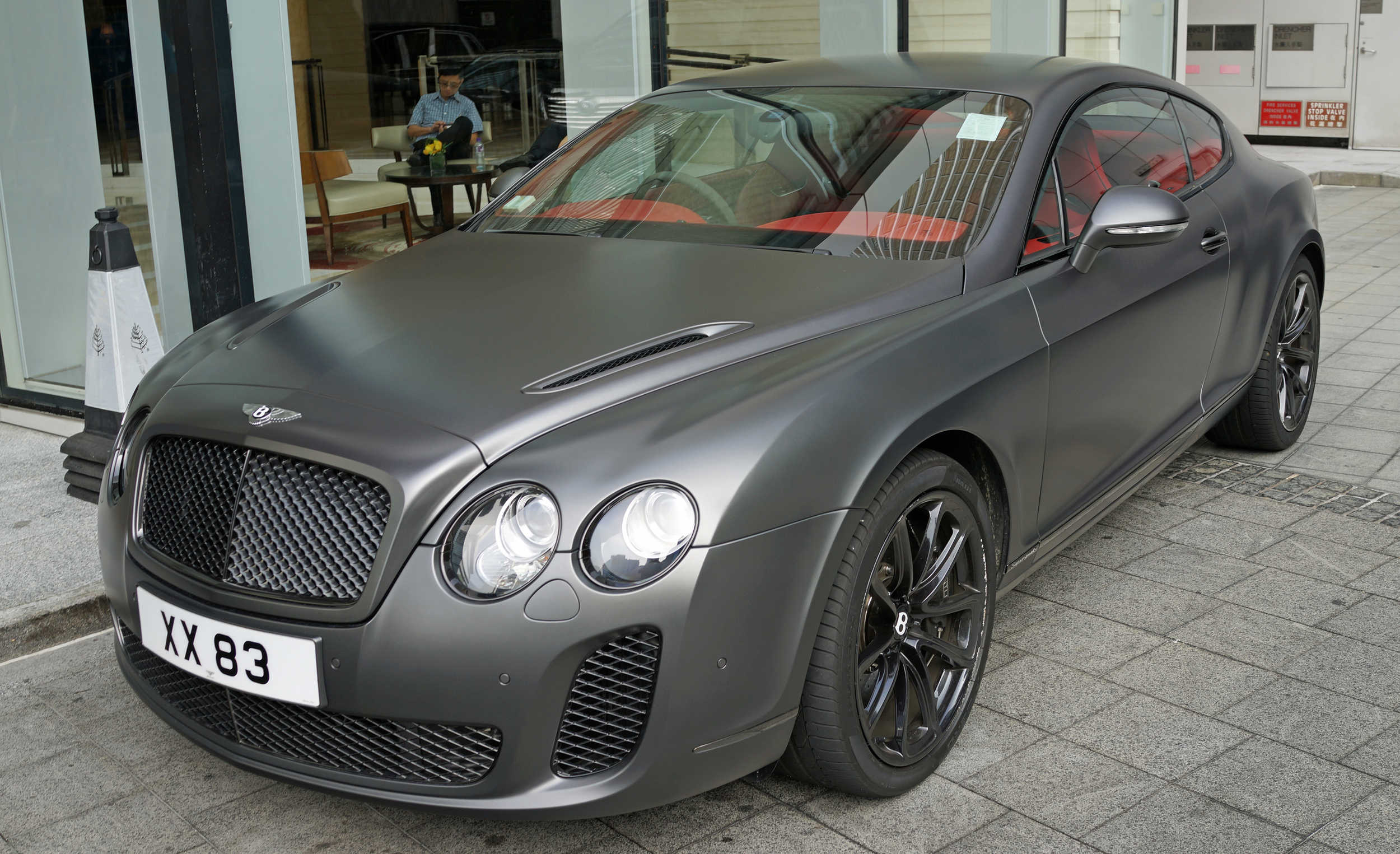 One of my favourite Bentley's at the Four Seasons Place.. simply stunning.