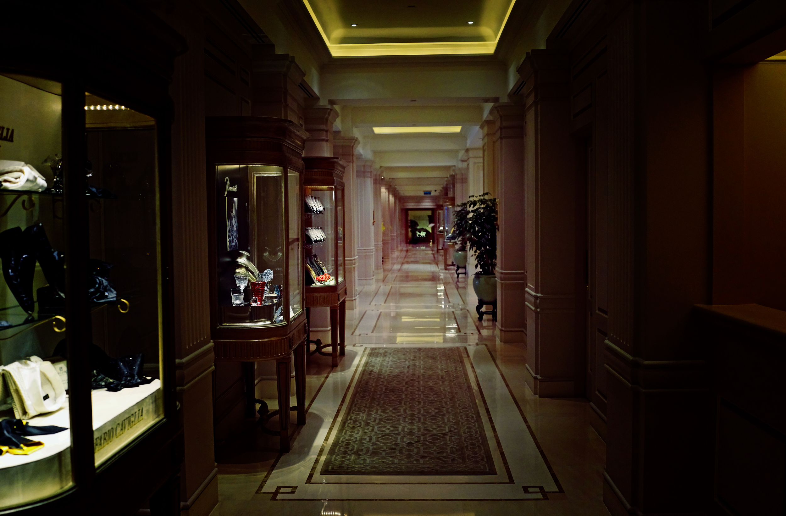 Sometimes the simple pleasures are the best and walking the corridors of the Peninsula Hotel (to the exquisite bathrooms!) is right up there.