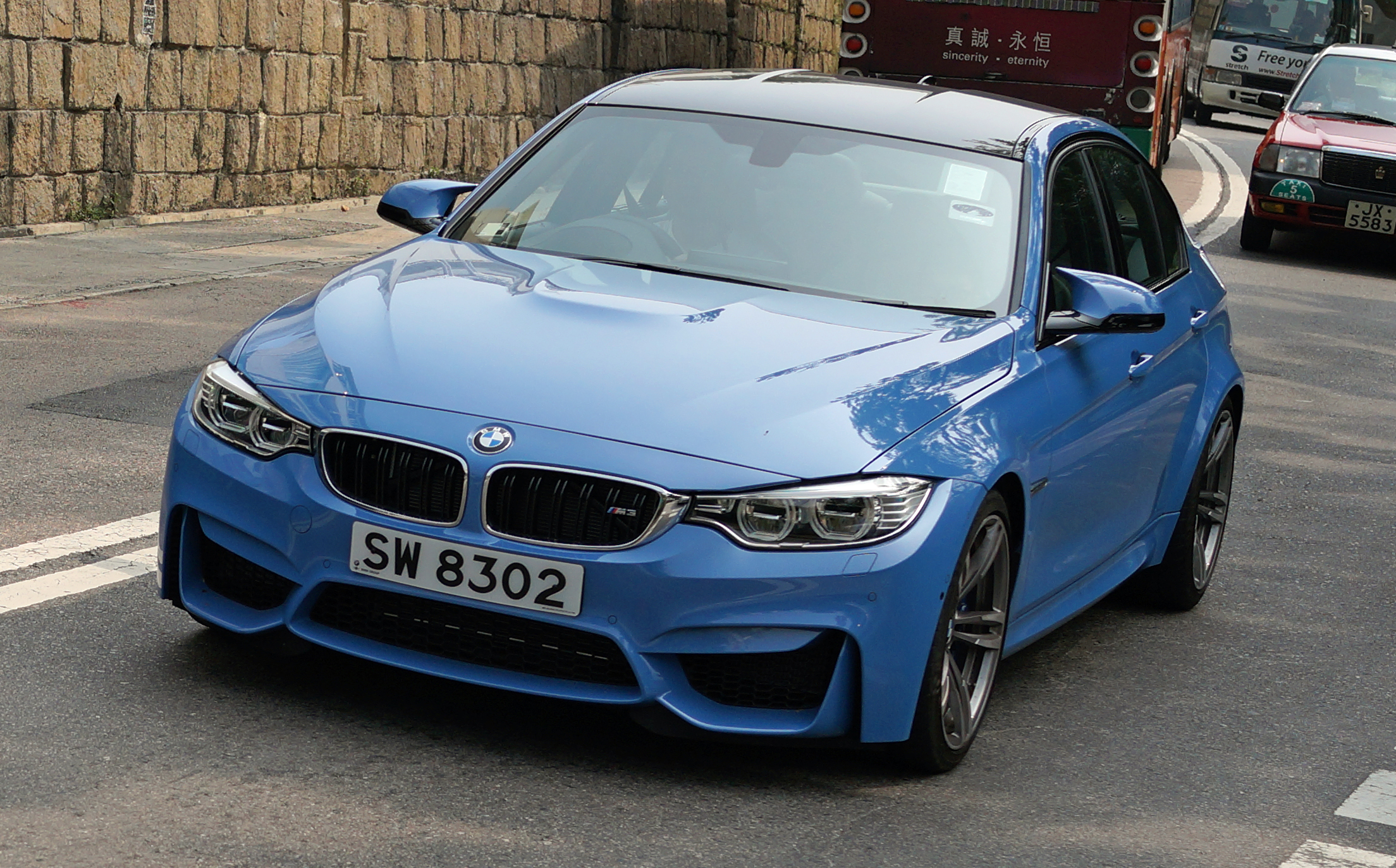 One of the reasons I love the new breed of Beamers is that they have offbeat colours which make them stand out.. love this shade of blue!