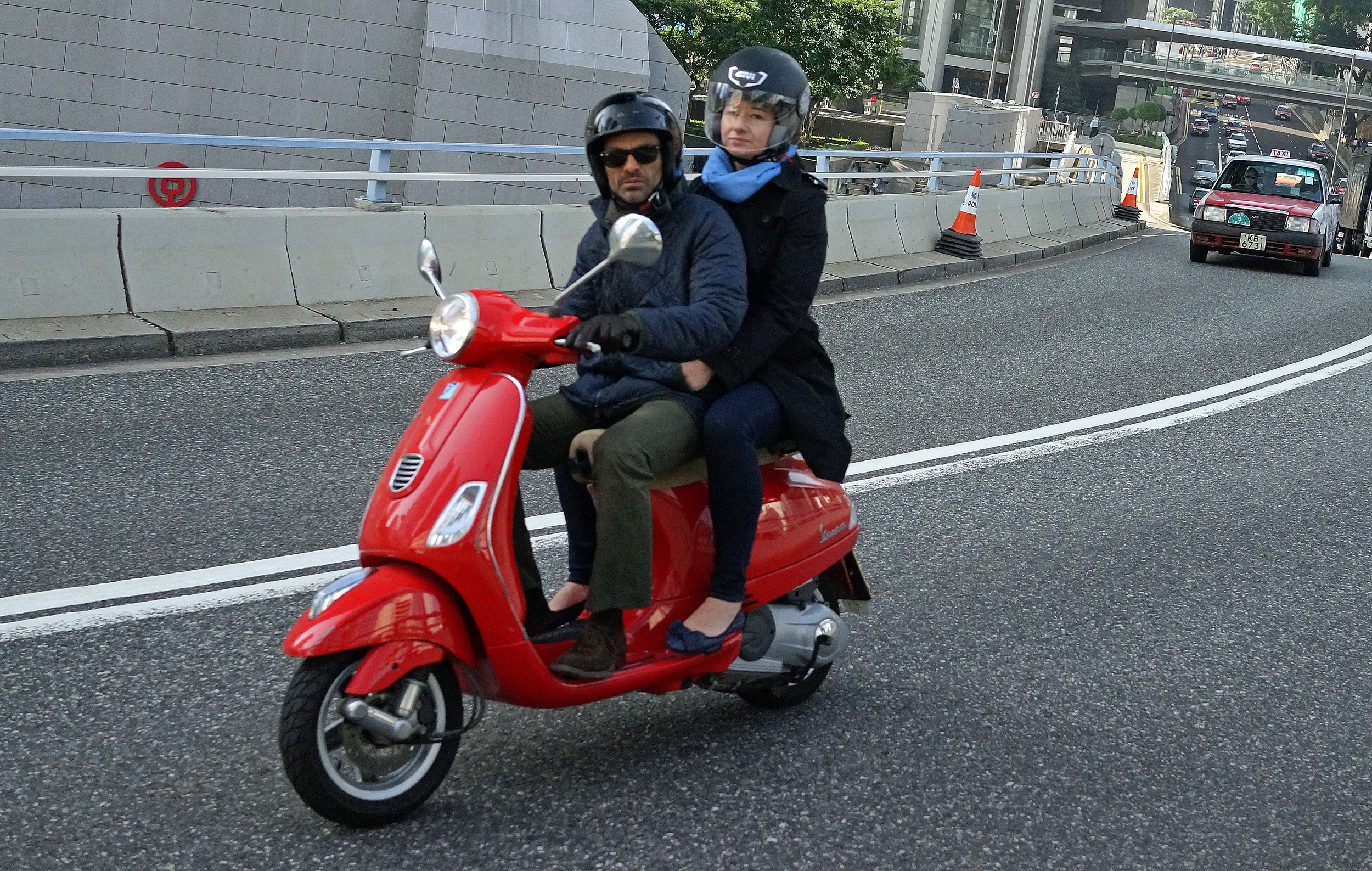 I am NOT a fan of scooters, at best I think they are an embarrassing mode of transport (and yes, I do appreciate why they are popular and why people buy them) and it is hard to look cool on something that is slower than a lawnmower... however I get some great images of people on scooters!