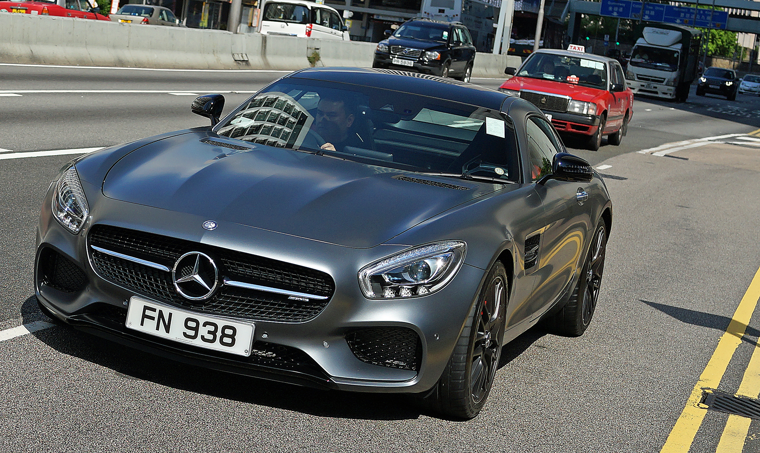The amazing new Mercedes Benz AMG GT S