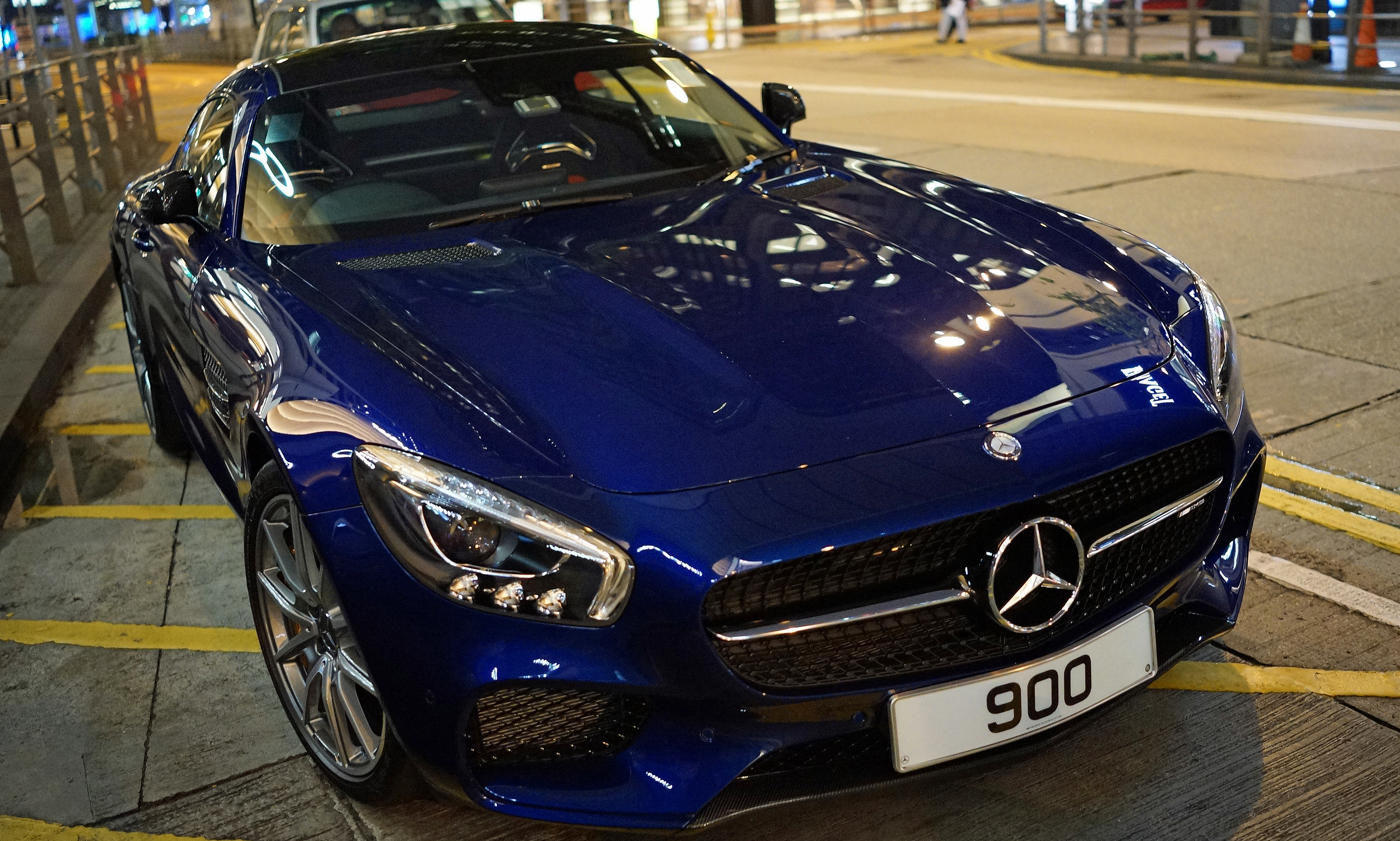 Same car different colour, this is one beast of a car and I have now seen it in 3 colours - this Mercedes Benz AMG GT S is one amazing car and this one has a very lucky number plate.