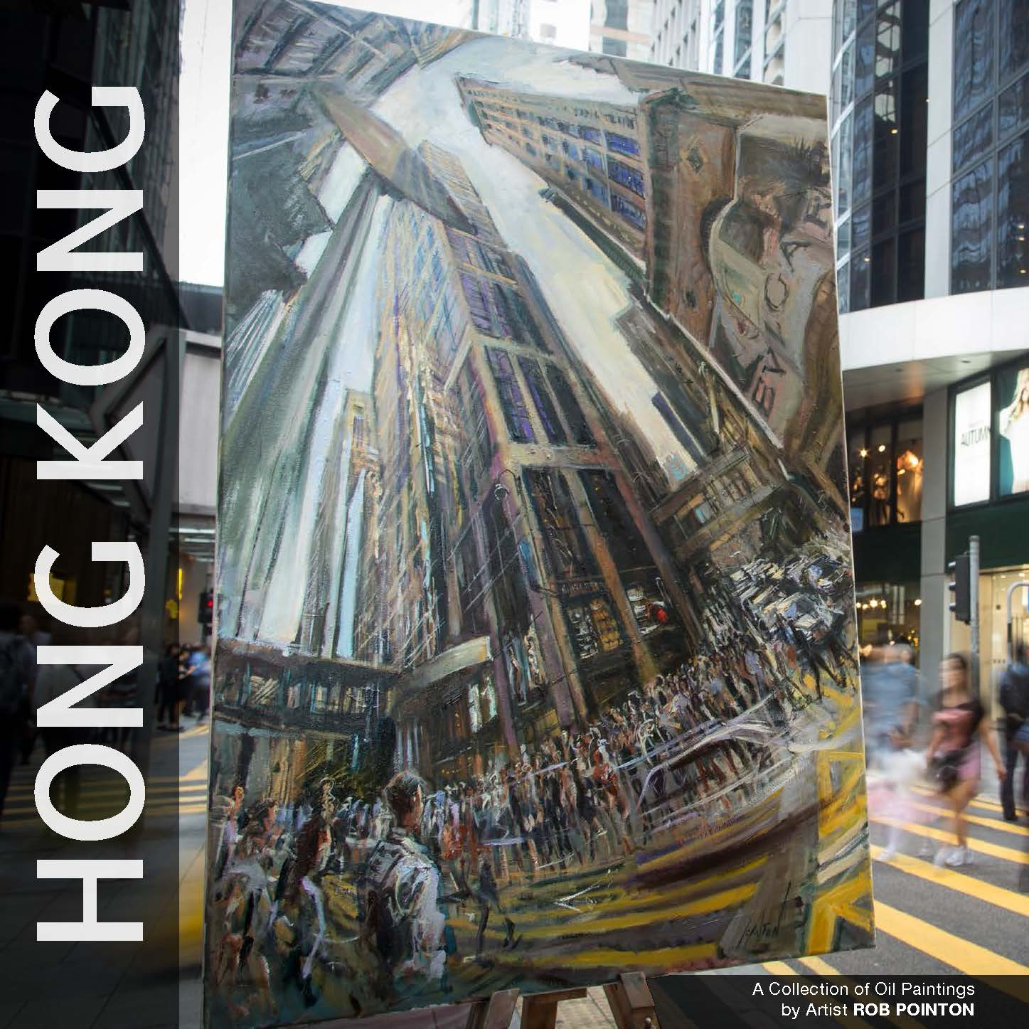 I had the good fortune to bump into Rob Pointon at my spot at the Peak, Rob is an amazing talent and his paintings of Hong Kong are simply awesome