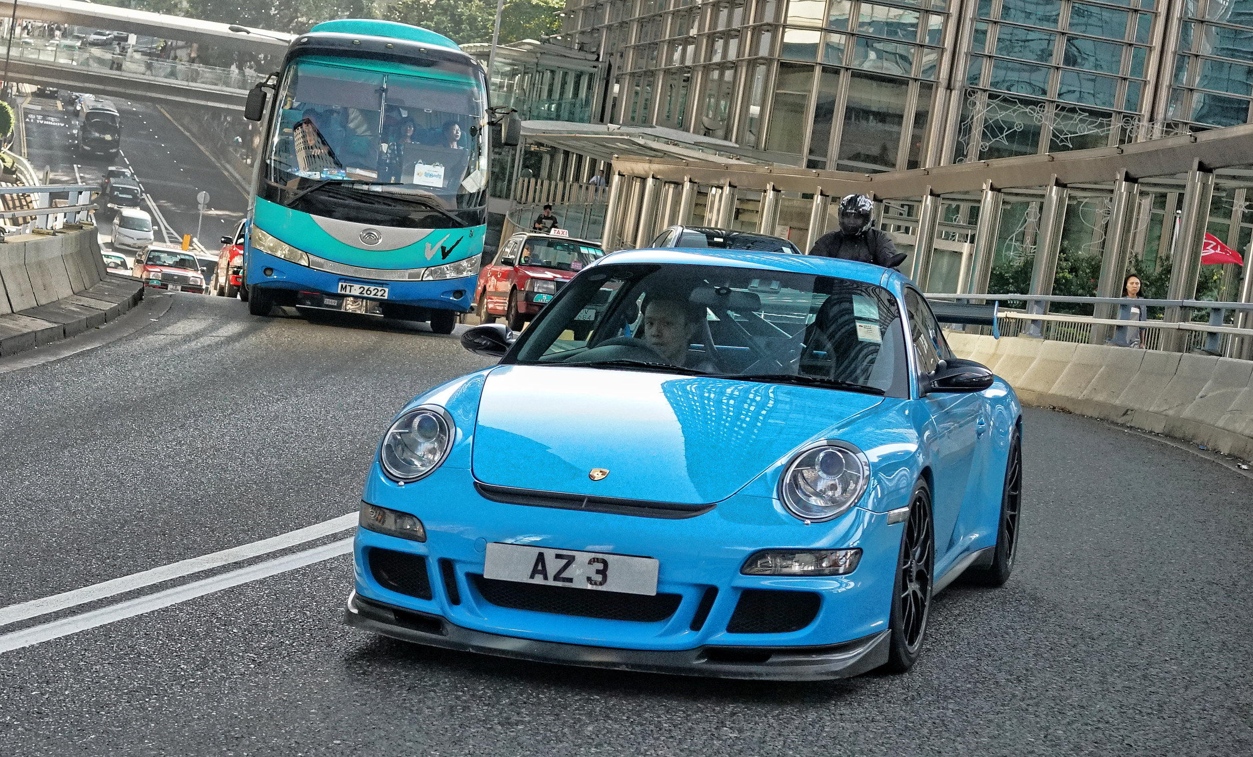 This is Arthur in his amazing blue Porsche GT3 RS I love this car.....