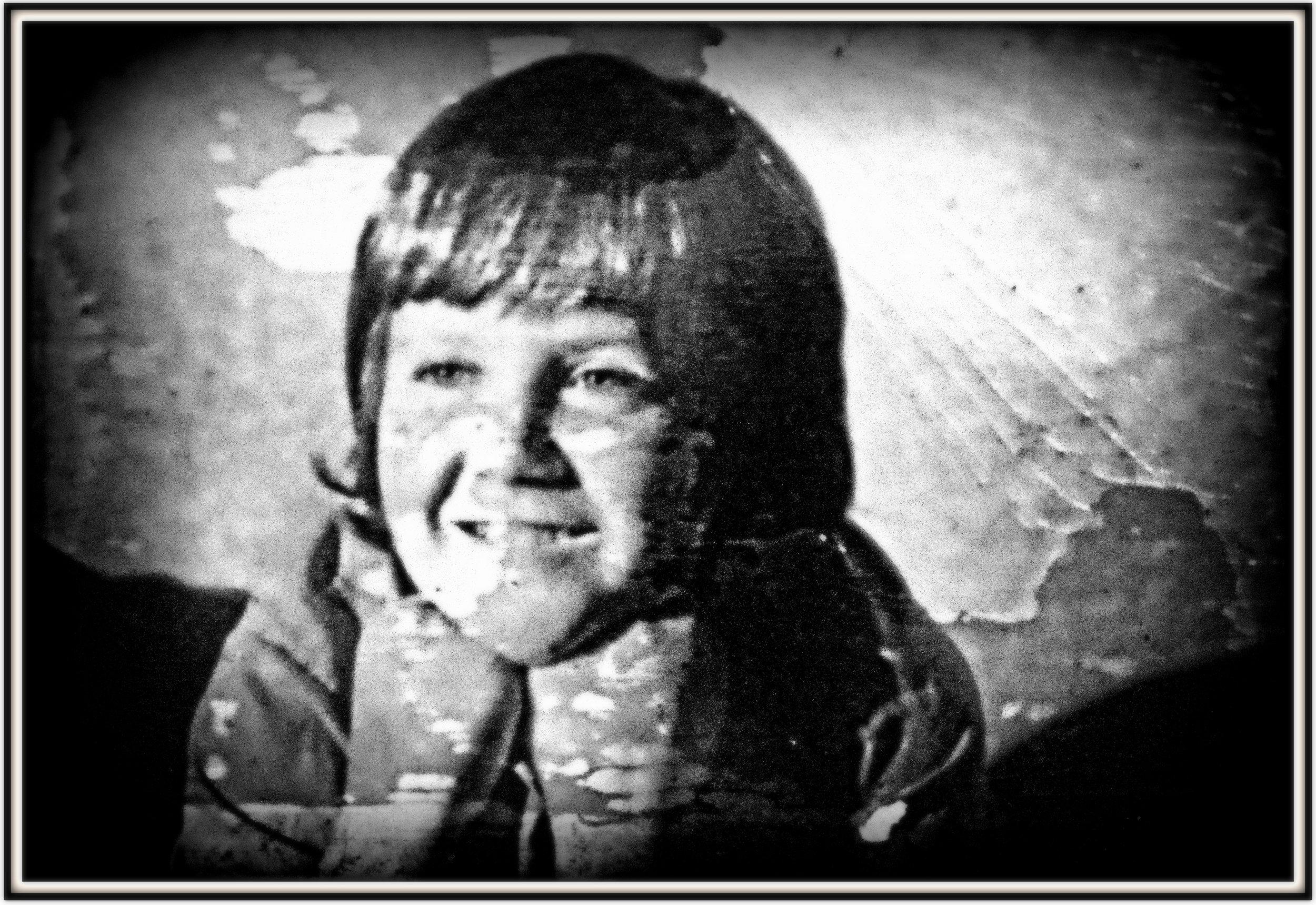 Me, January 1972, location - Kotewall Road Hong Kong ..... a long way from Yorkshire.