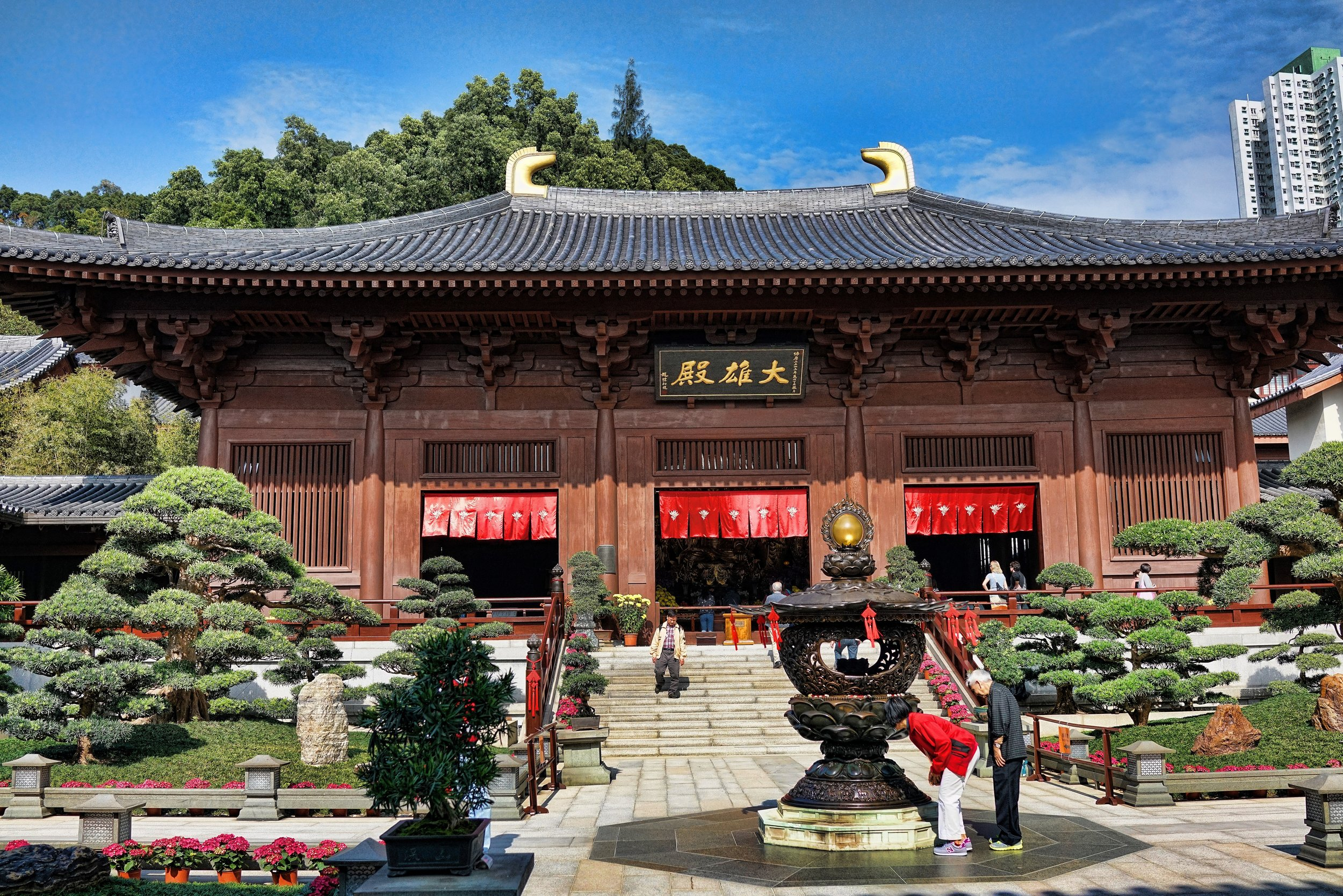 Hong Kong Airport Layover / Transit Tours -  .... and I do love the Chi Lin Nunnery in Diamond Hill, it is serene and well worth a visit during your flying visit to Hong Kong.