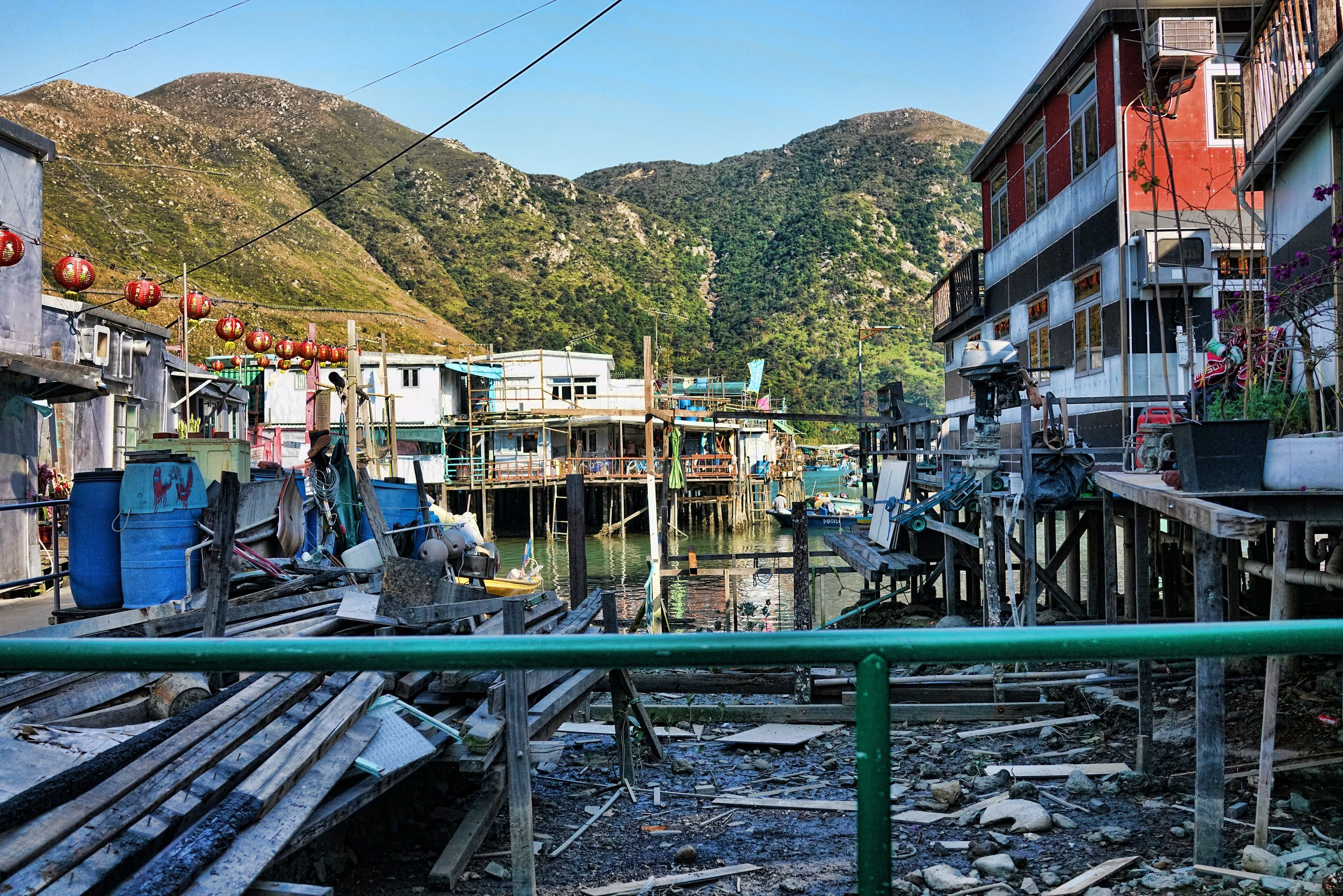 There are a lot of people who think the Tai O Fishing Village is a tourist trap, this is simply NOT the case... it is one of my favourite places to visit and actually most of the visitors are Hong Kong residents... it's remote location means it is very quiet during the week and I would heartily recommend that anyone visiting Hong Kong makes the long journey so see this rather unique place - I would be happy to take you if you book one of my private walking tours.... frankly, the best way to see Tai O is by foot.