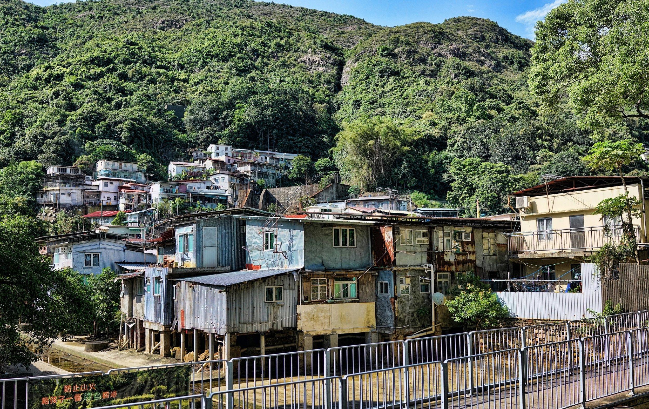 Sham Tseng Squatter Village (Shanty Town) NT Hong Kong.JPG