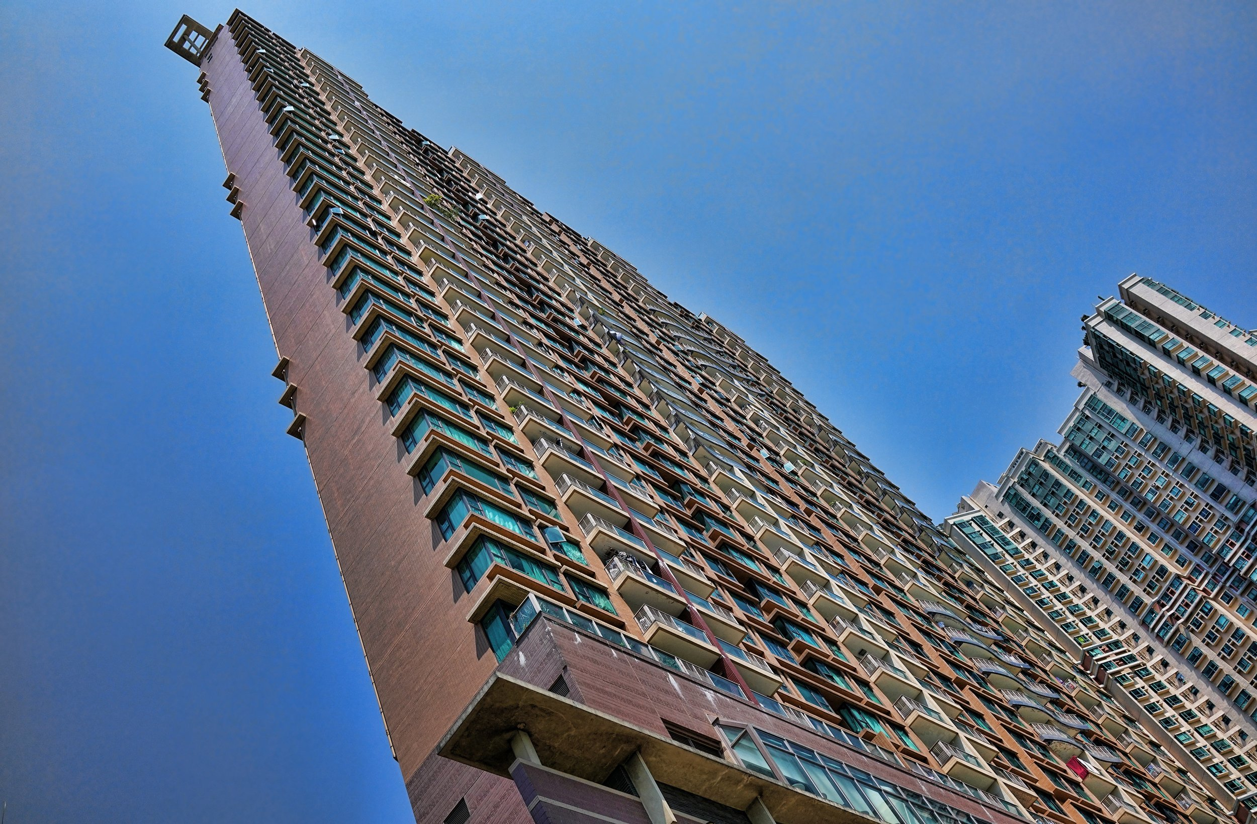 Middle Class Apartment Blocks, Sham Tseng, NT, Hong Kong -