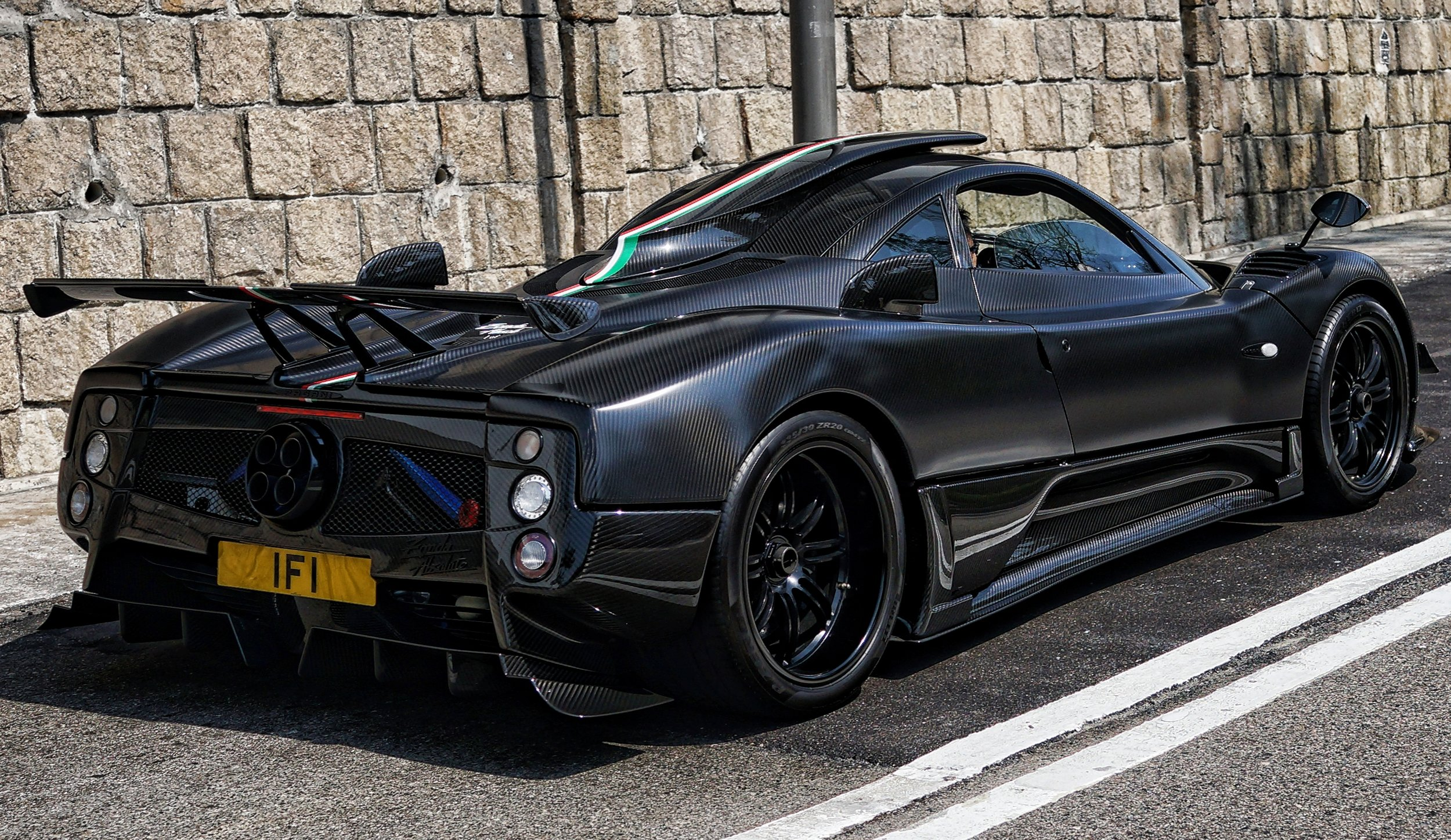 Pagani, hand made in Italy, about US$4 Million, Hong Kong car culture at it's finest -