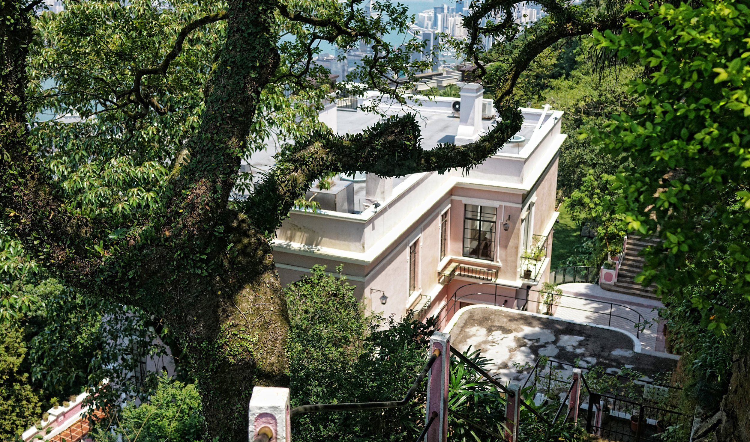 The Pink House, 5 Pollock's Path, The Peak, Hong Kong.JPG