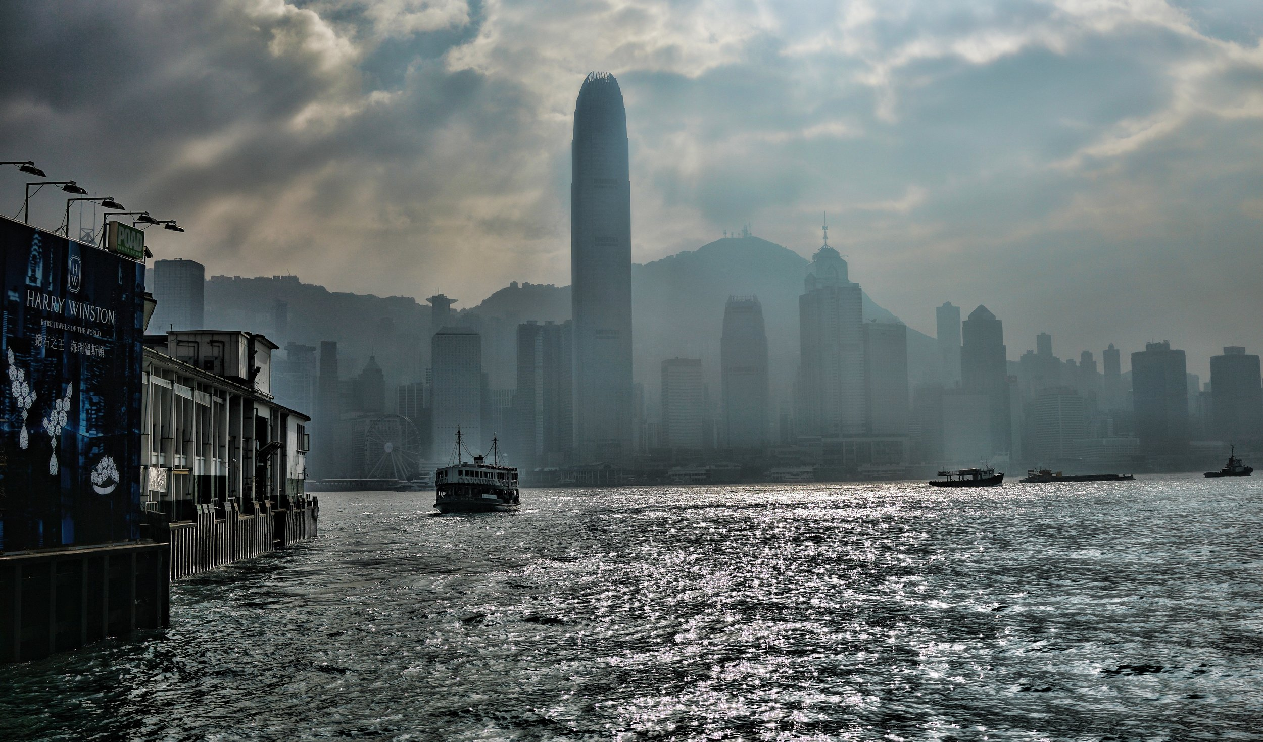 … and I shoot in all weather conditions, even a Hong Kong hazy day in winter offers up some great shots -