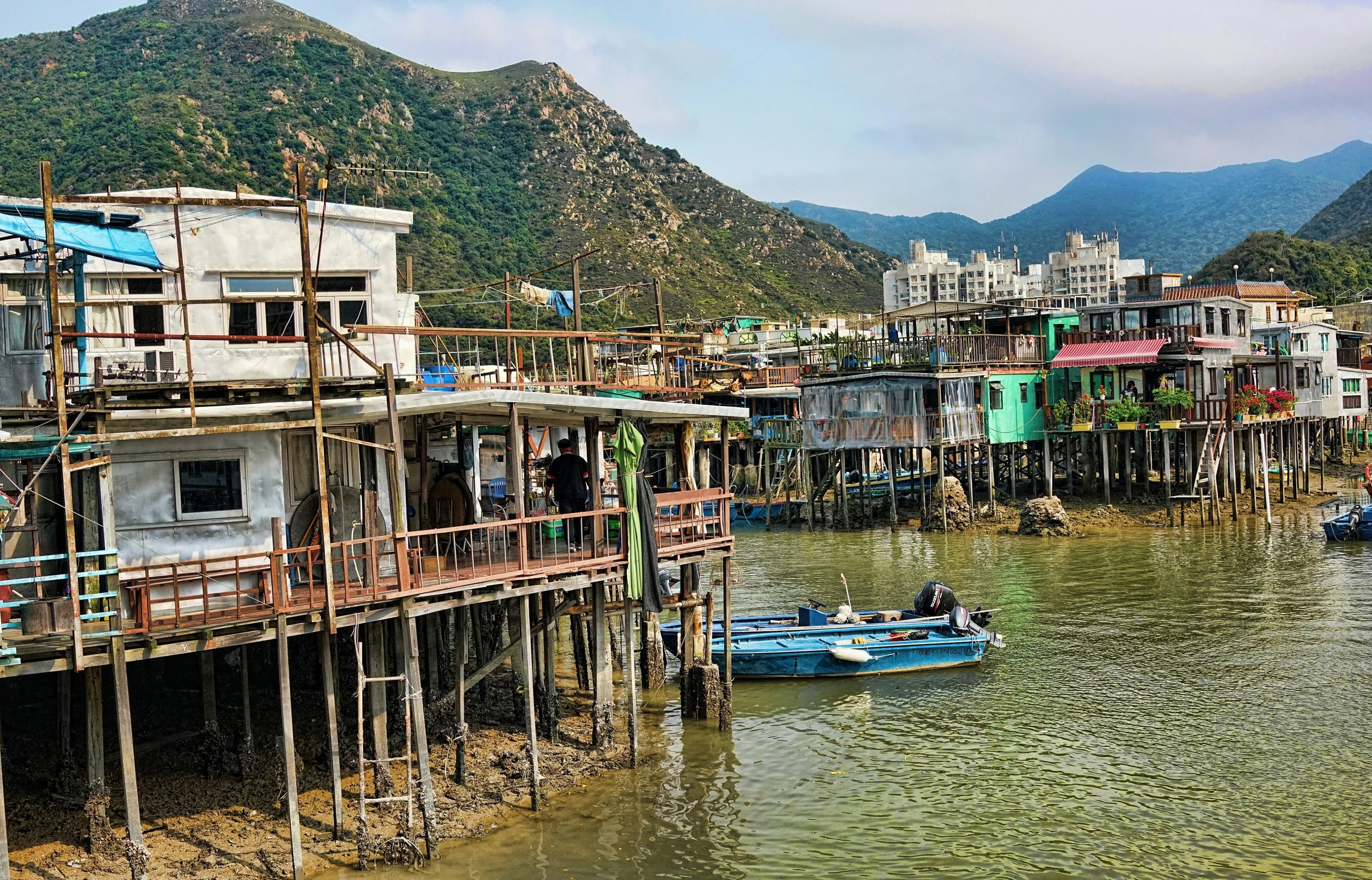 … and I go far and wide to get the shot… the Tai O Fishing Village is about as far away from down town as you can get in Hong Kong -