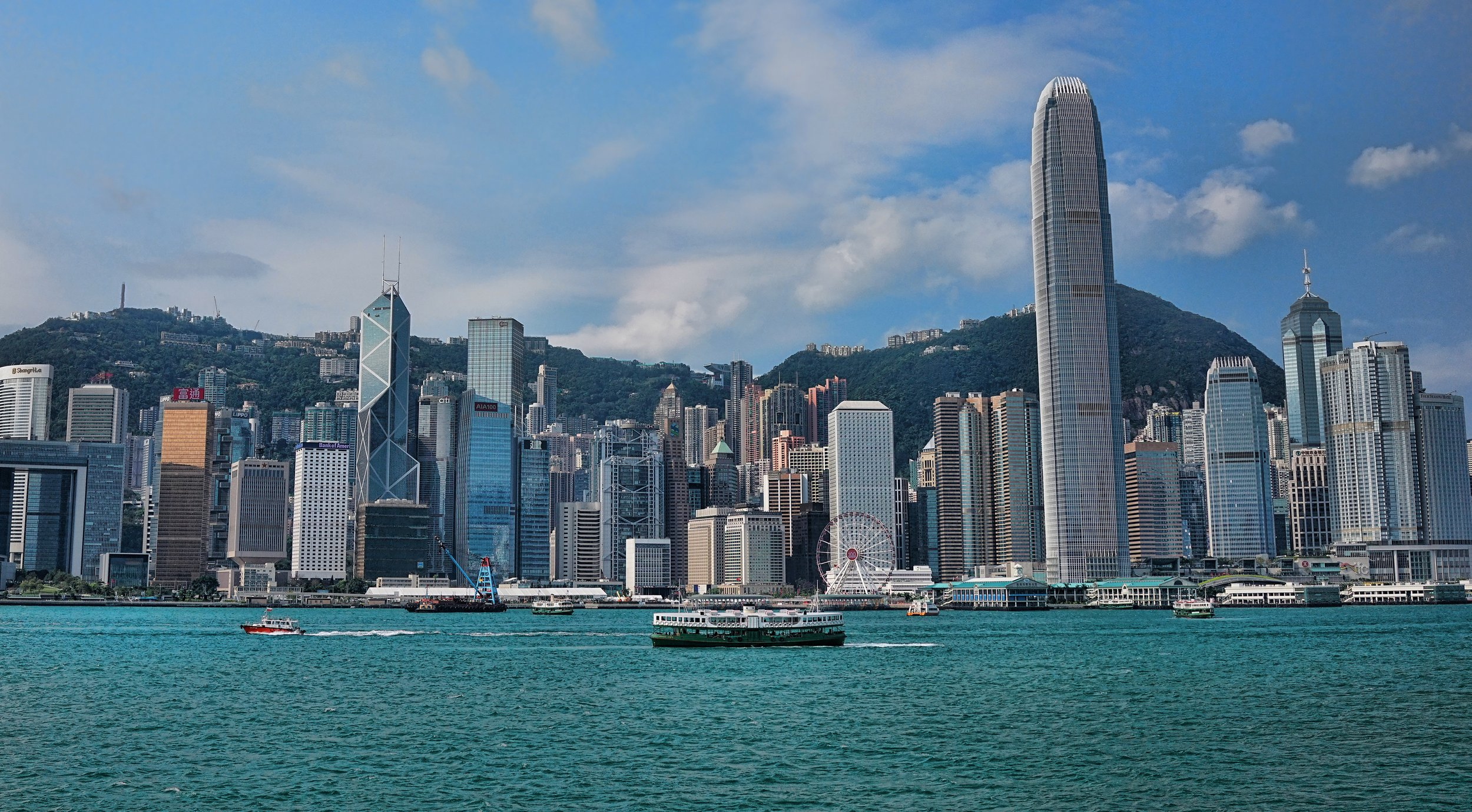 This is my Hong Kong | how about this for a great view of Hong Kong Island in April 2019
