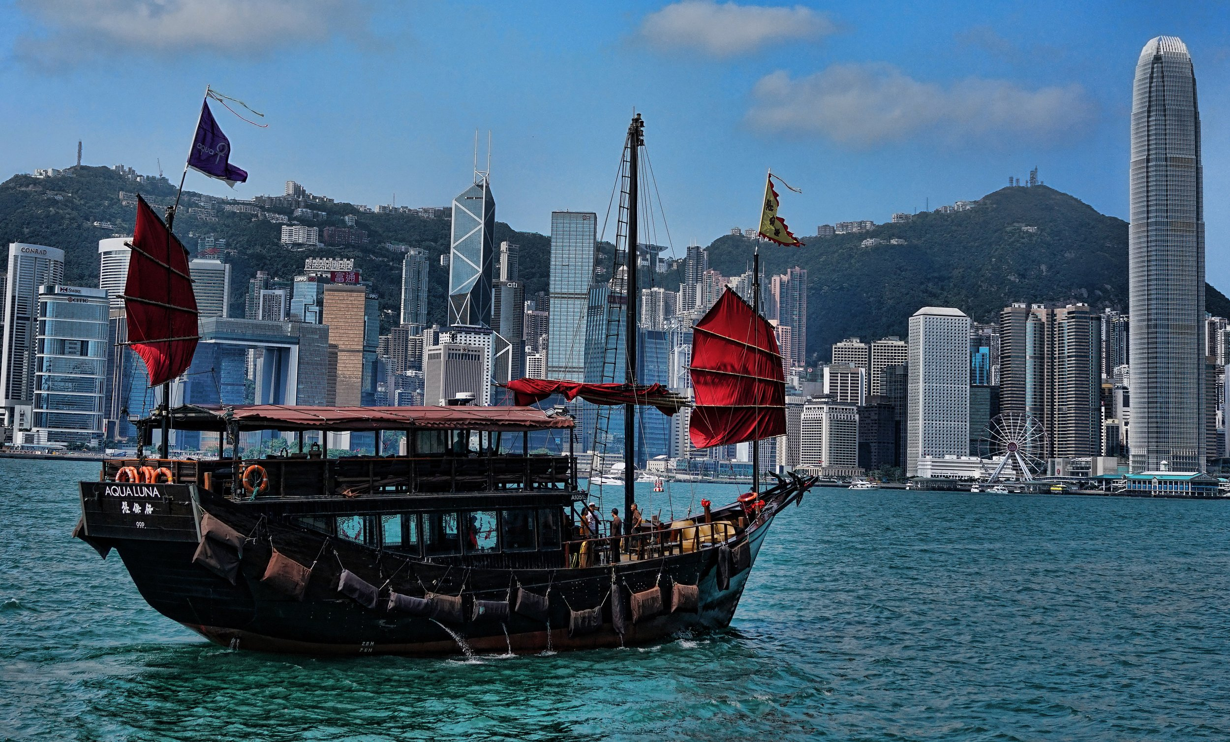The Aqua Luna, Tour Boat, Hong Kong Harbour May 2019 (7).JPG