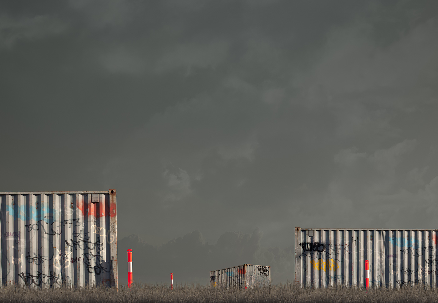 Container Hil   Pigment print on archival rag  l   110 x 154.5cm    Edition of 7 +2AP