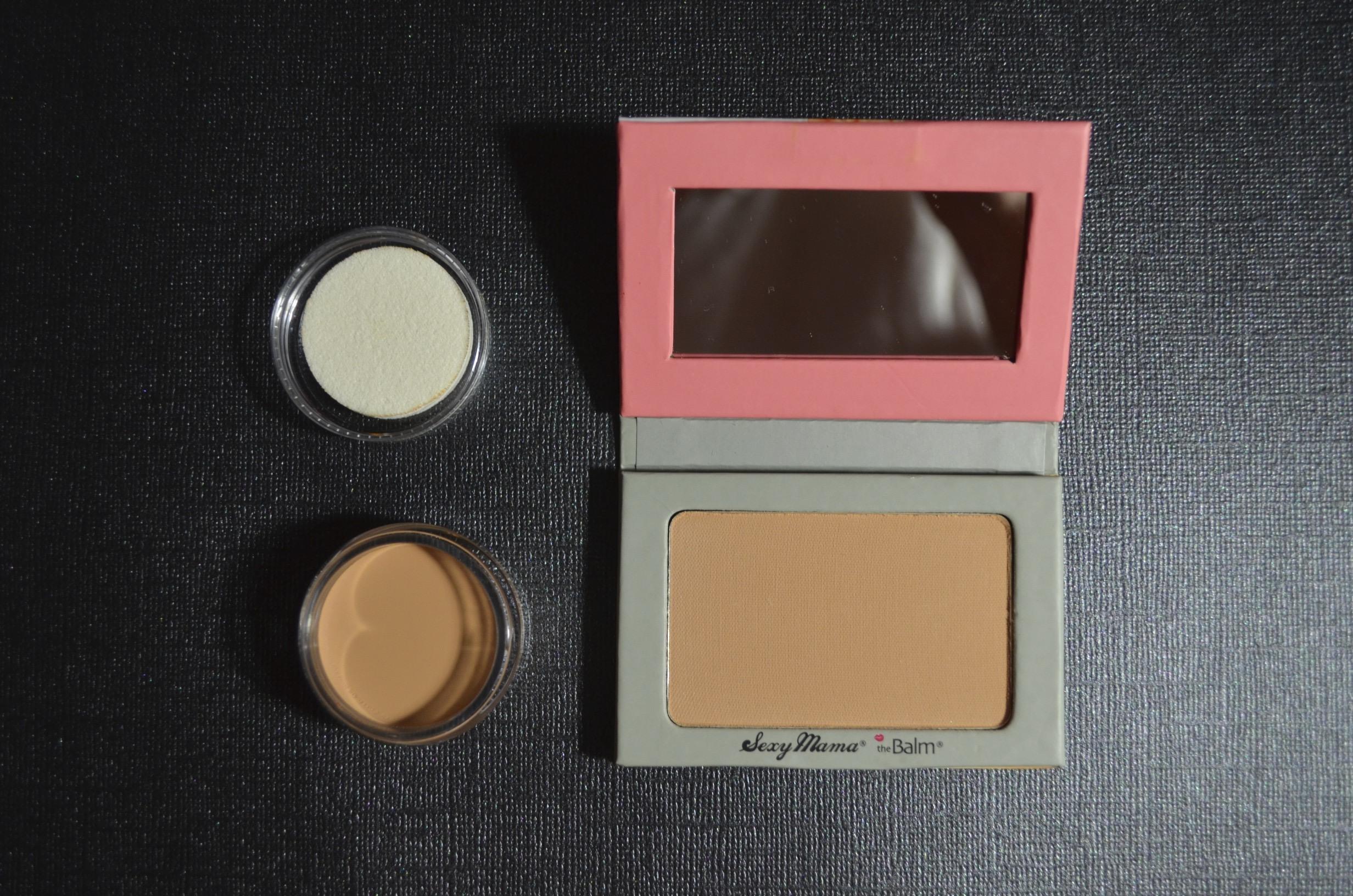 thebalm powder, thebalm concealer