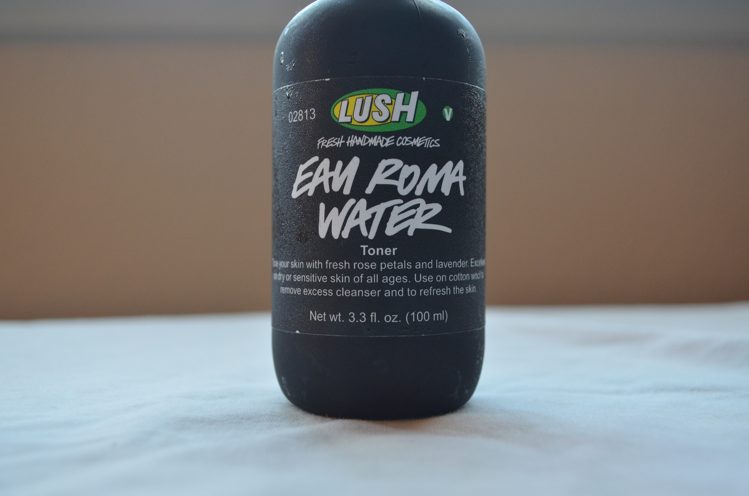 lush eau roma water review