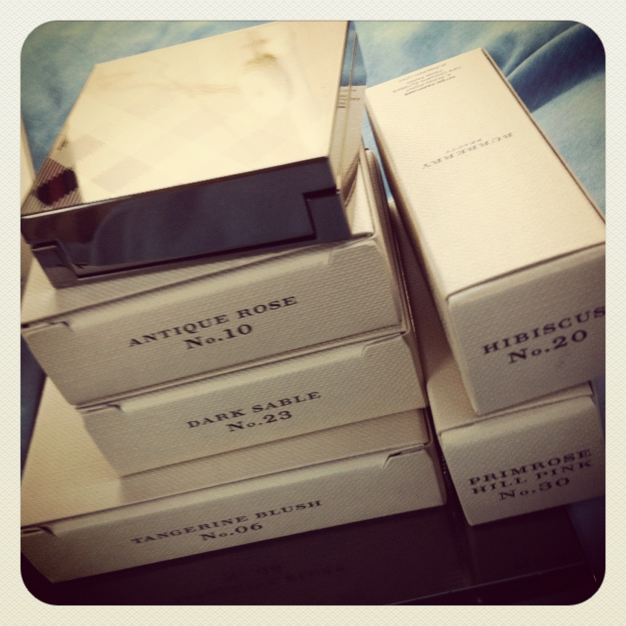burberry purchases