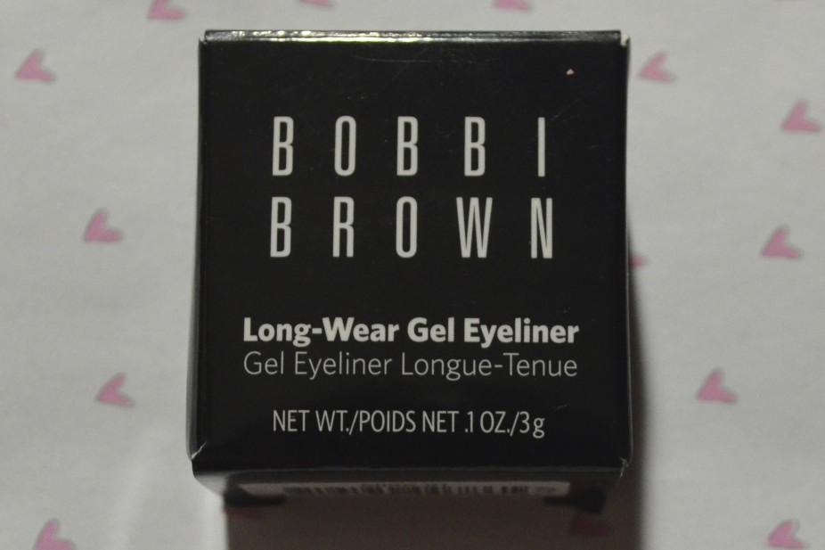 bobbi brown gel eyeliner review