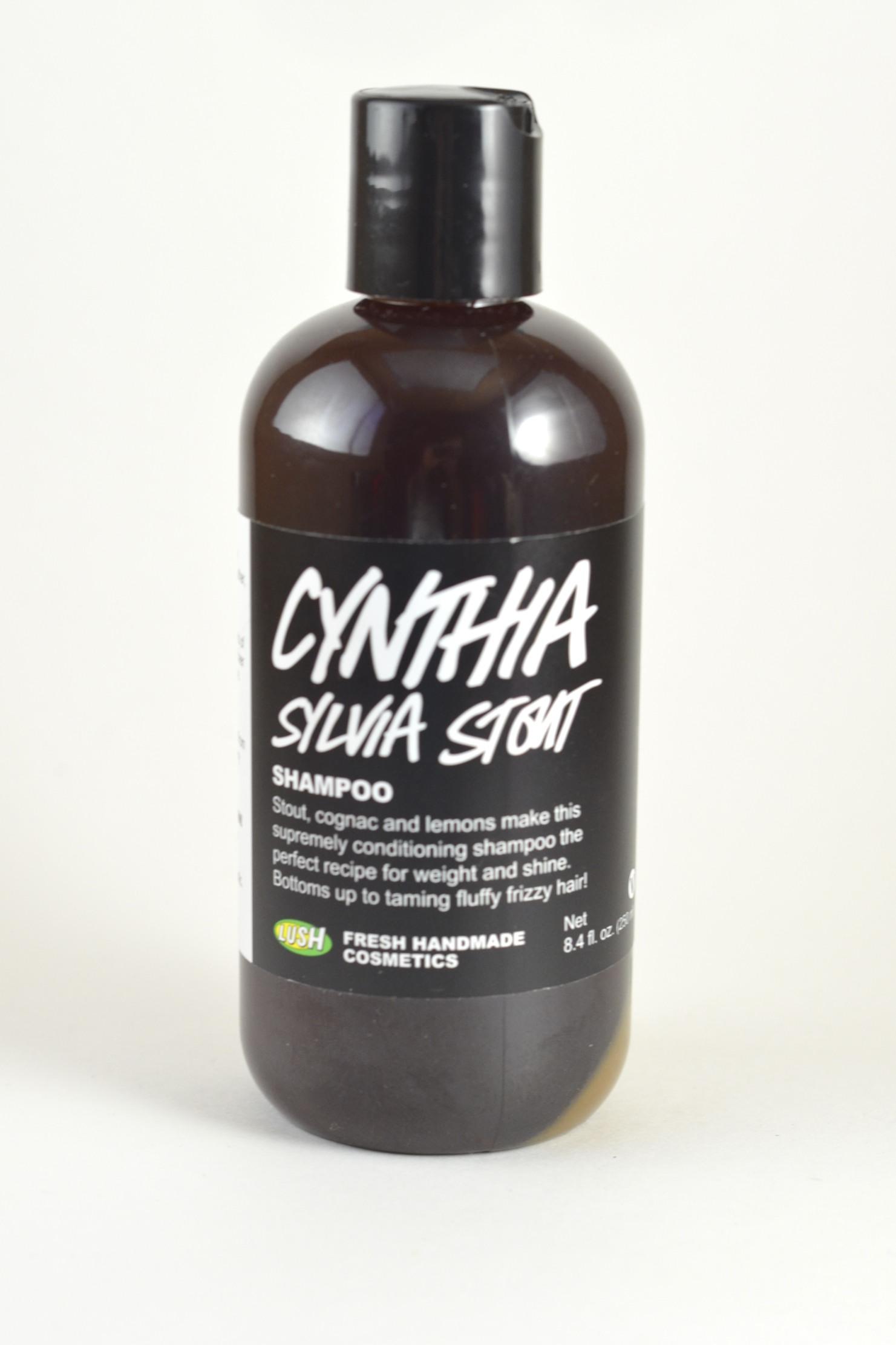 lush cynthia sylvia stout shampoo review