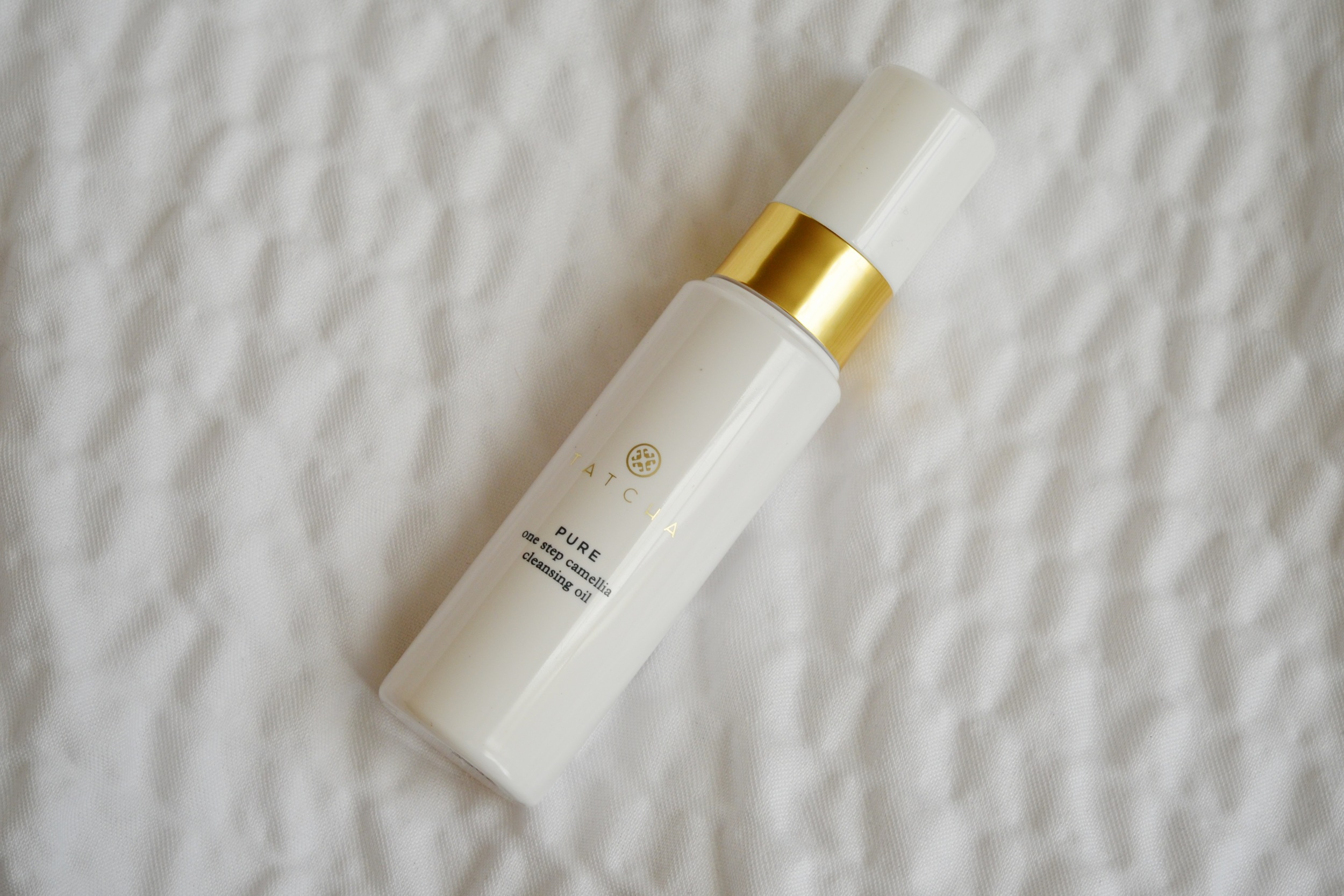 Tatcha Pure One Step Camellia Cleansing OIl review, tatcha cleansing oil review