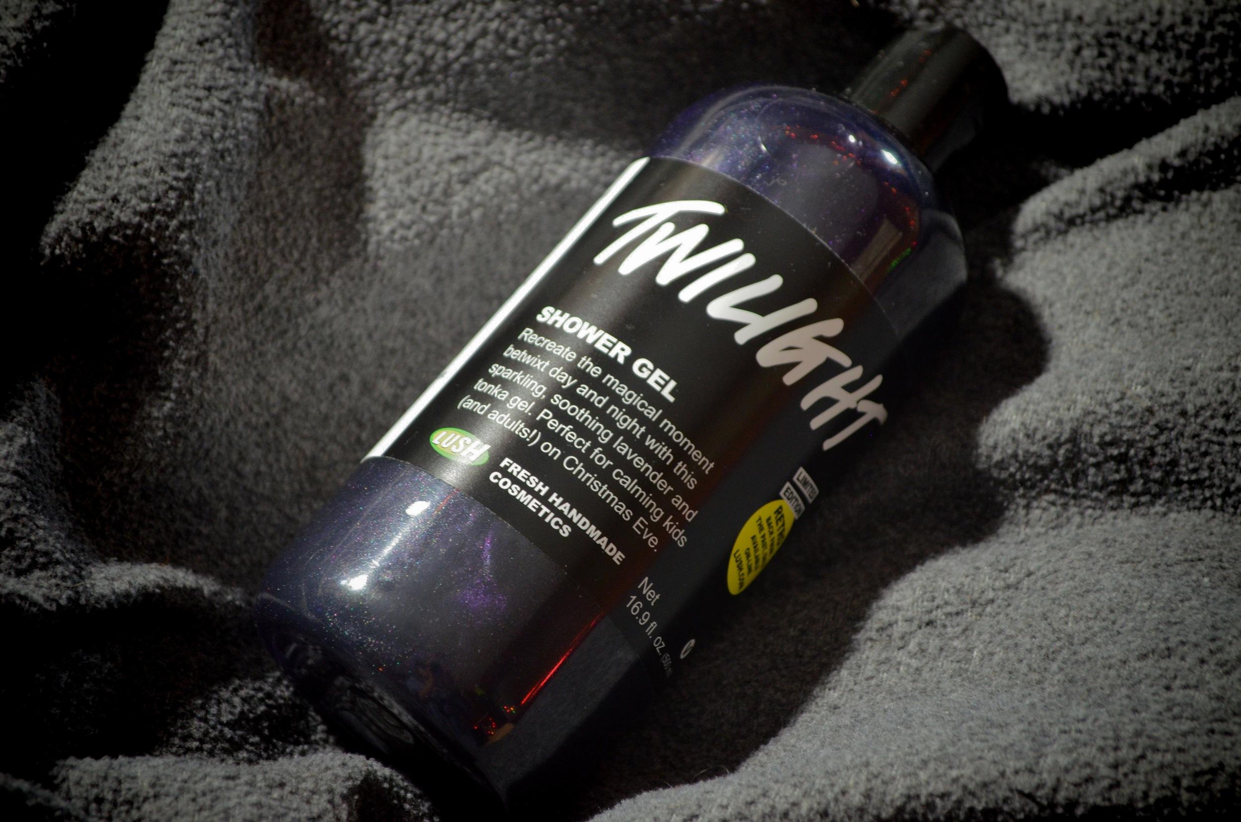 lush twilight shower gel review