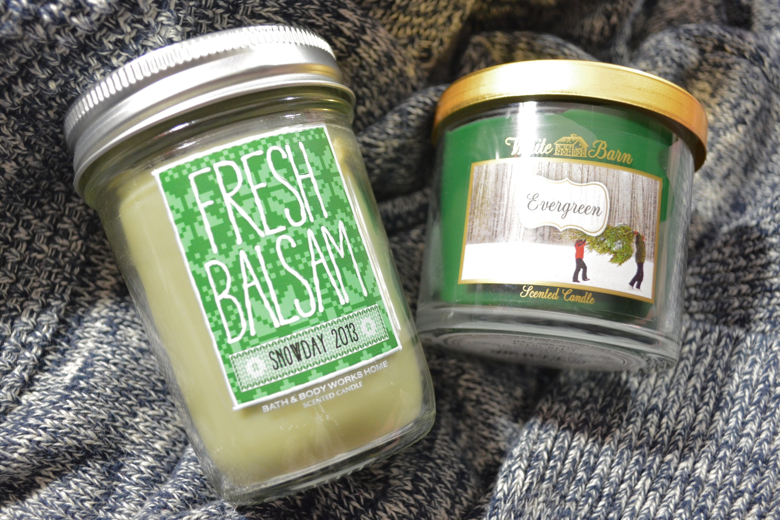 bath & body works fresh balsam candle review, bath & body works evergreen candle review