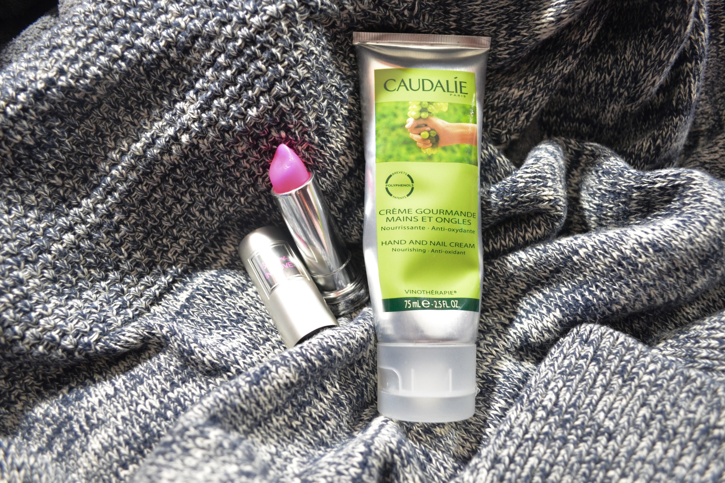lancome baume in love review, caudalie hand cream review