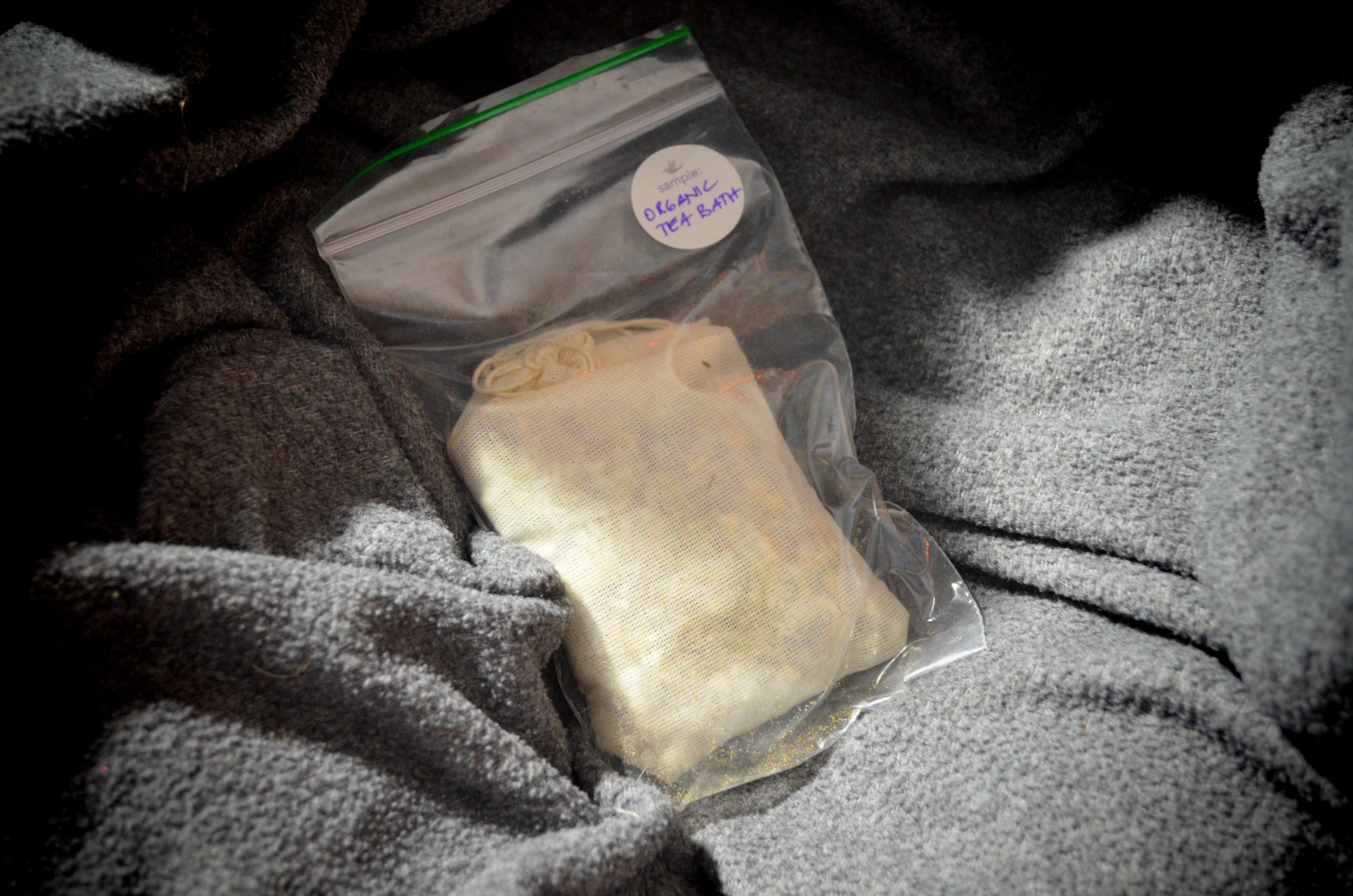 osmia organics tea bath review