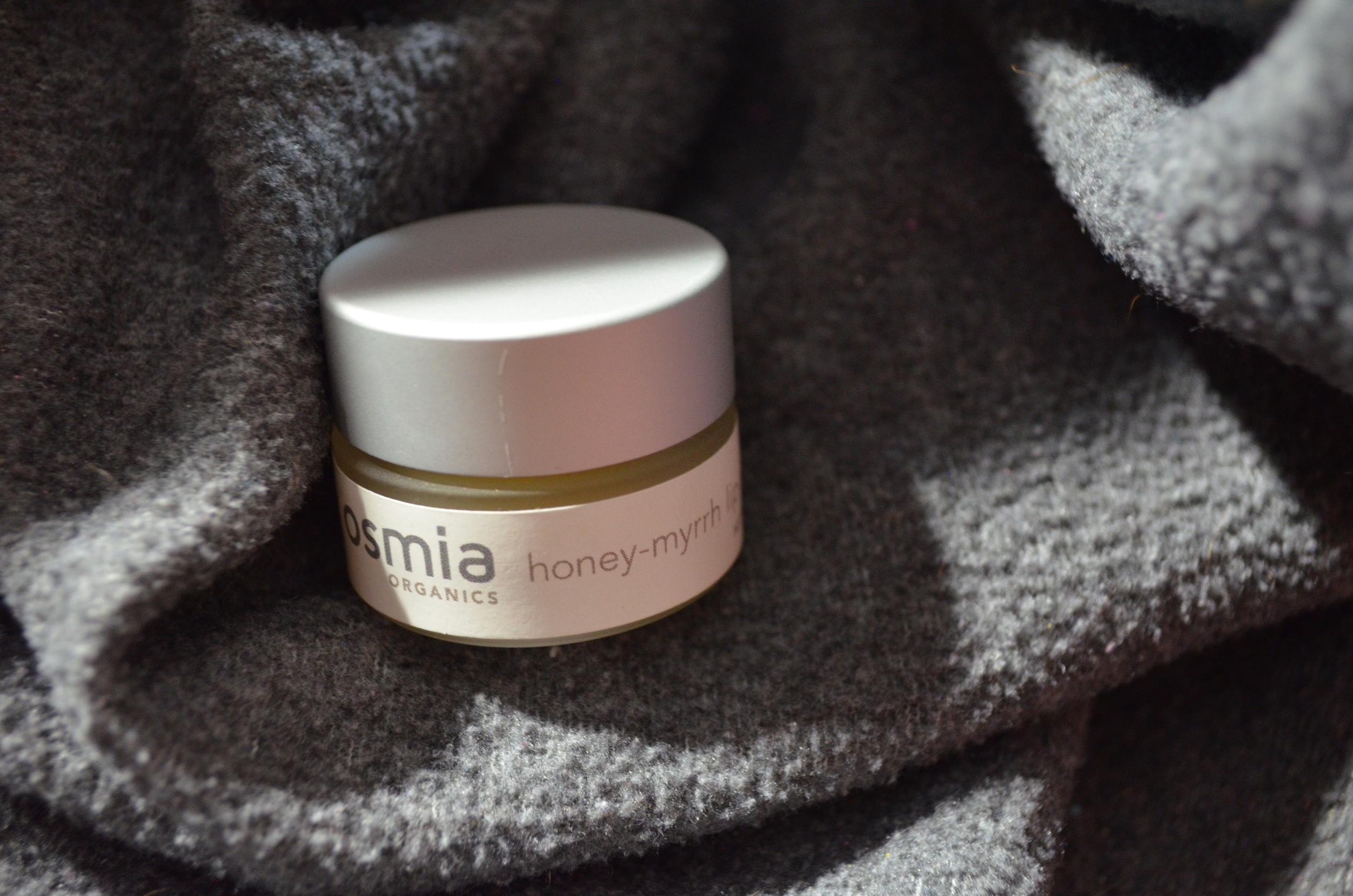 Osmia Organics Honey-Myrrh Lip Repair Review