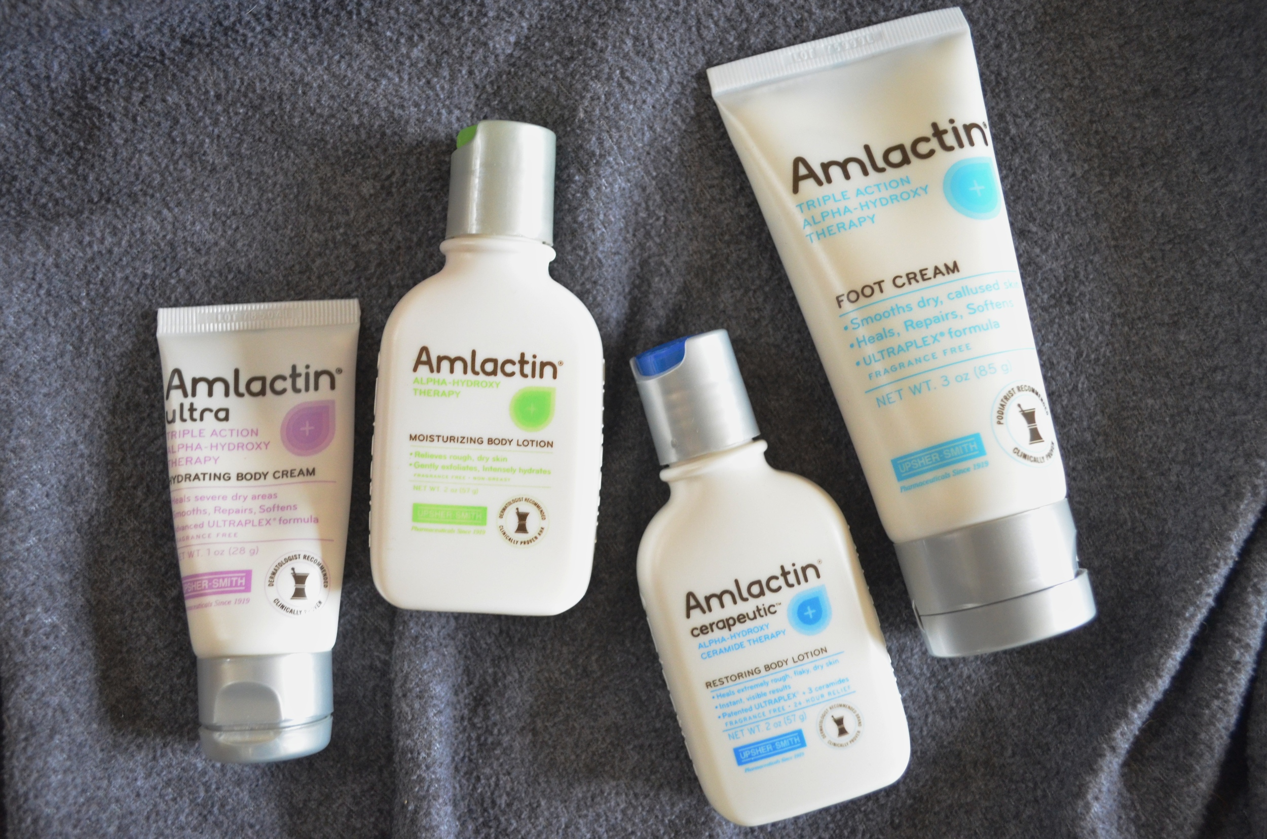 Amlactin Ultra Hydrating Body Cream review, Amlactin Moisturizing Body Lotion Review, Amlactin Cerapeutic Restoring Body Lotion review, Amlactin Foot Cream Review