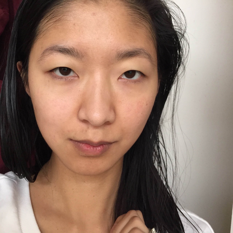 Before: No Makeup!