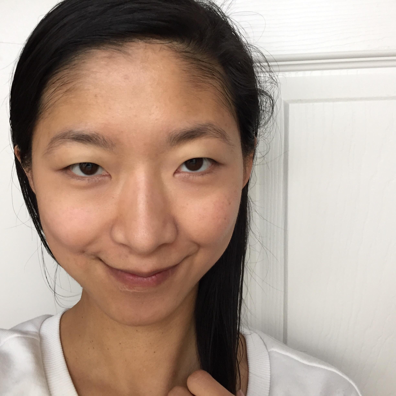 After: Eve Lom Light Illusion Concealer! (under eyes & around mouth)