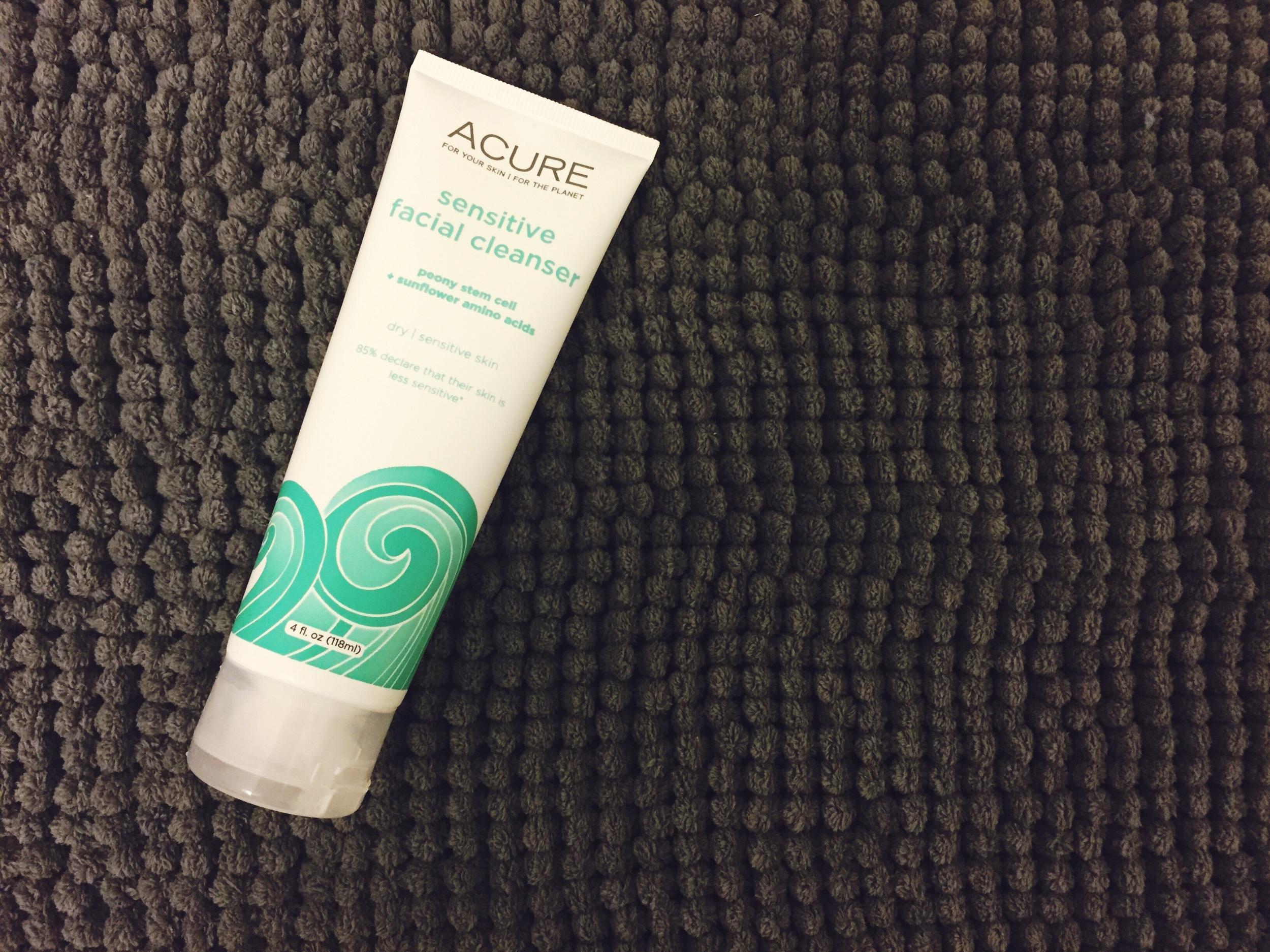 ACURE Organics Sensitive Facial Cleanser Review