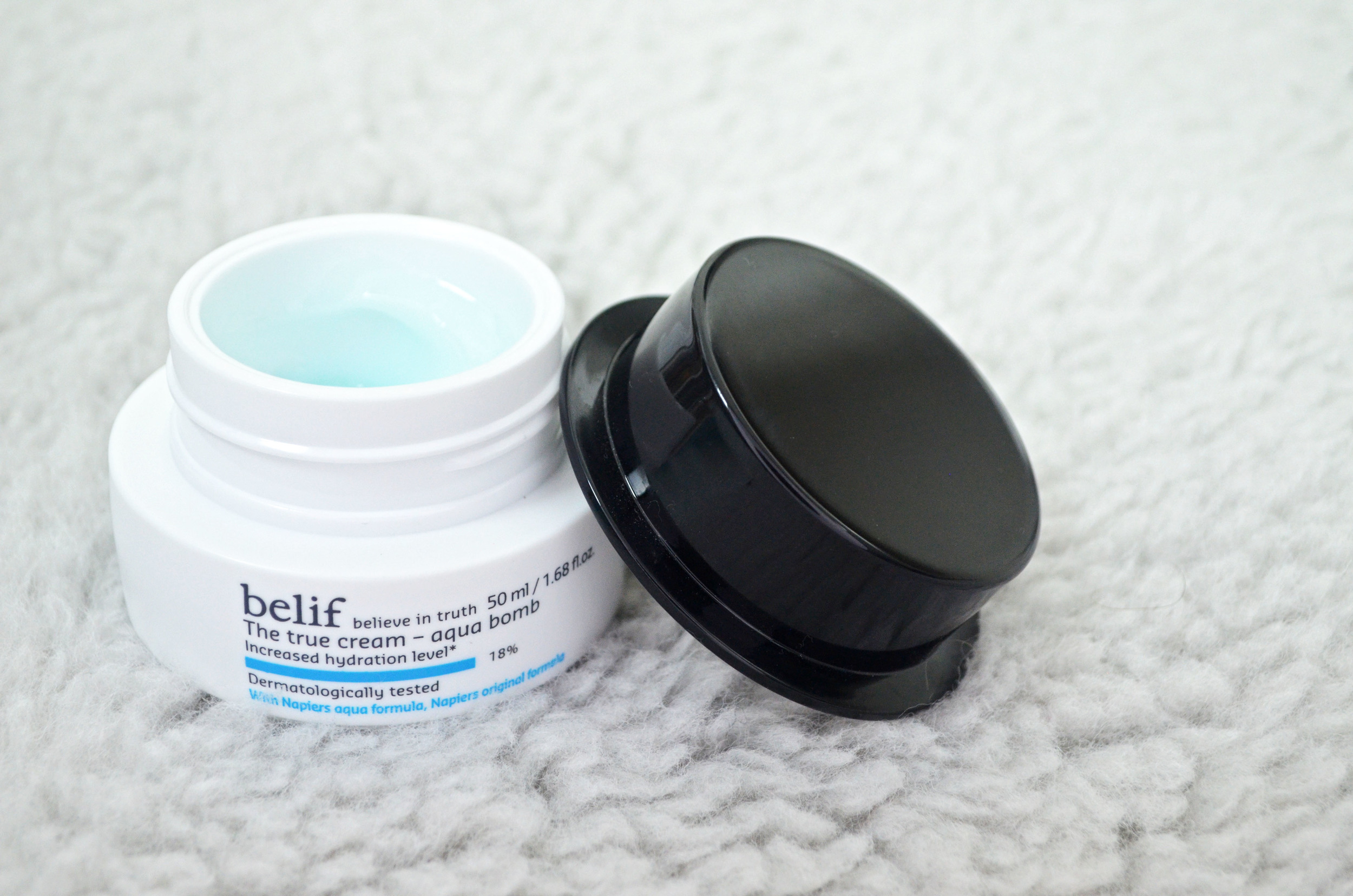 Belif The True Cream Aqua Bomb review