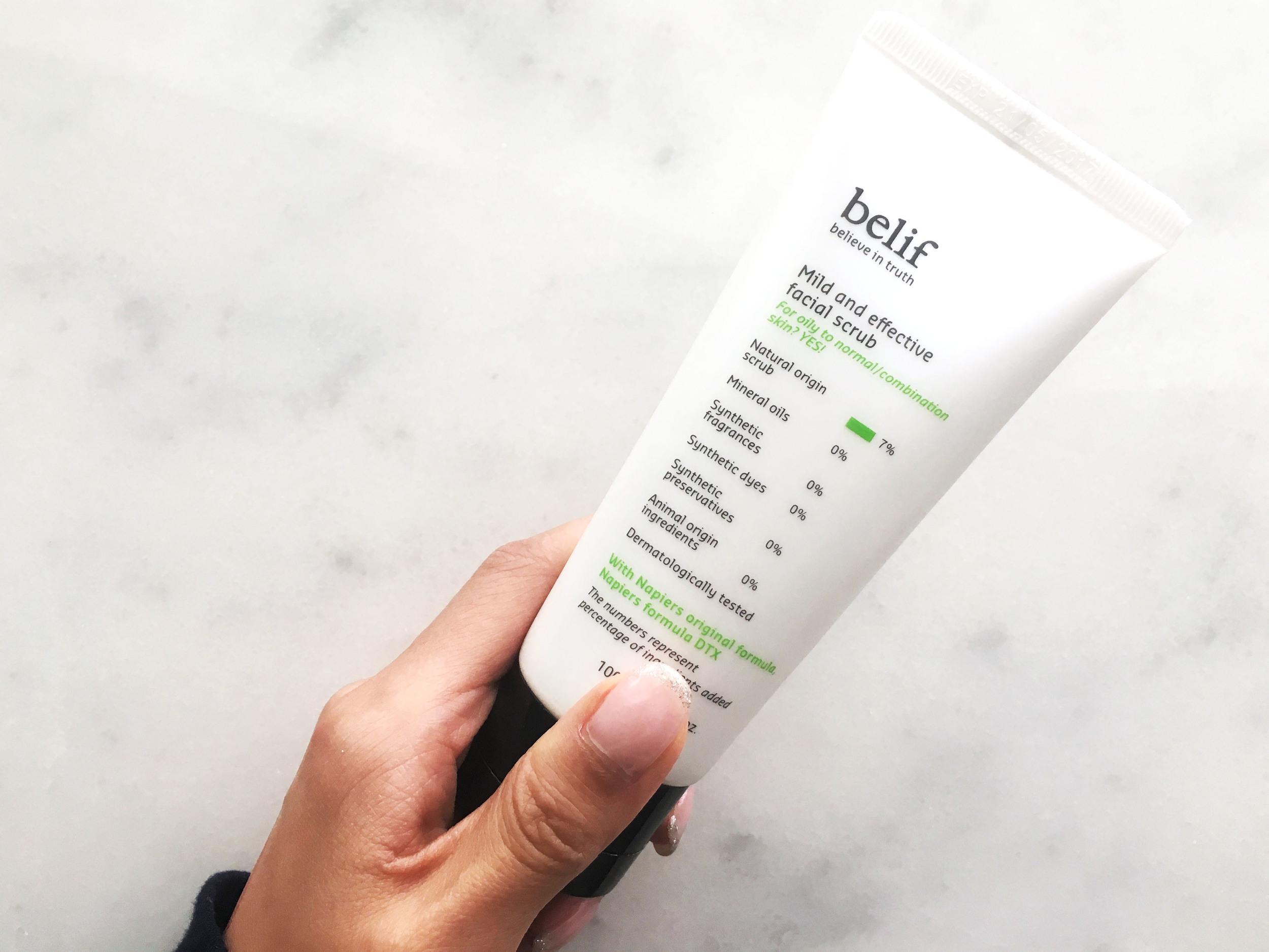 Belif Mild & Effective Scrub