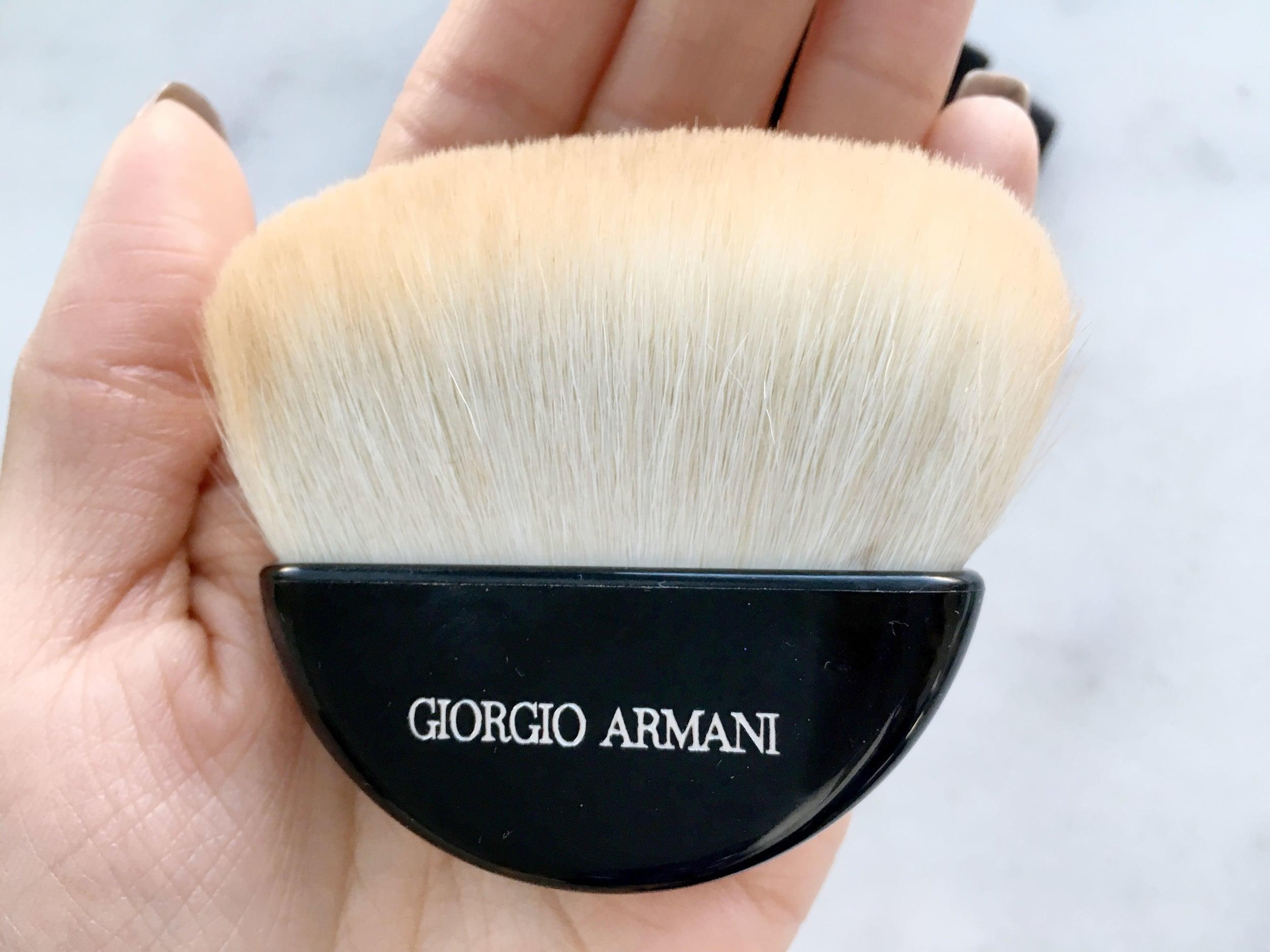 suositut kaupat tilata netistä monia muodikkaita Giorgio Armani Maestro Sculpting Powder Brush ♡ — XOXO, JOYCE